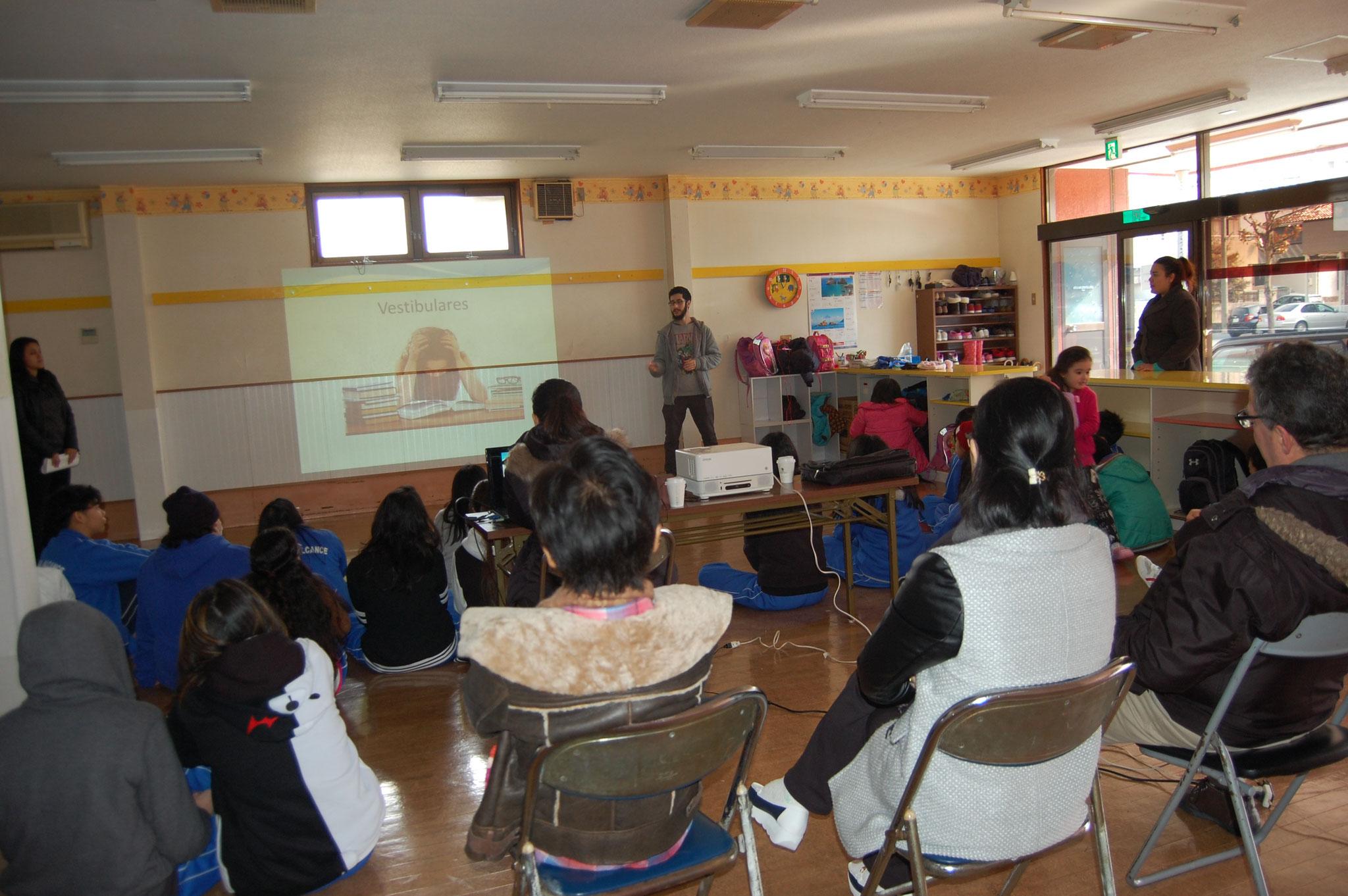 Escola Alcance – Palestra 2017