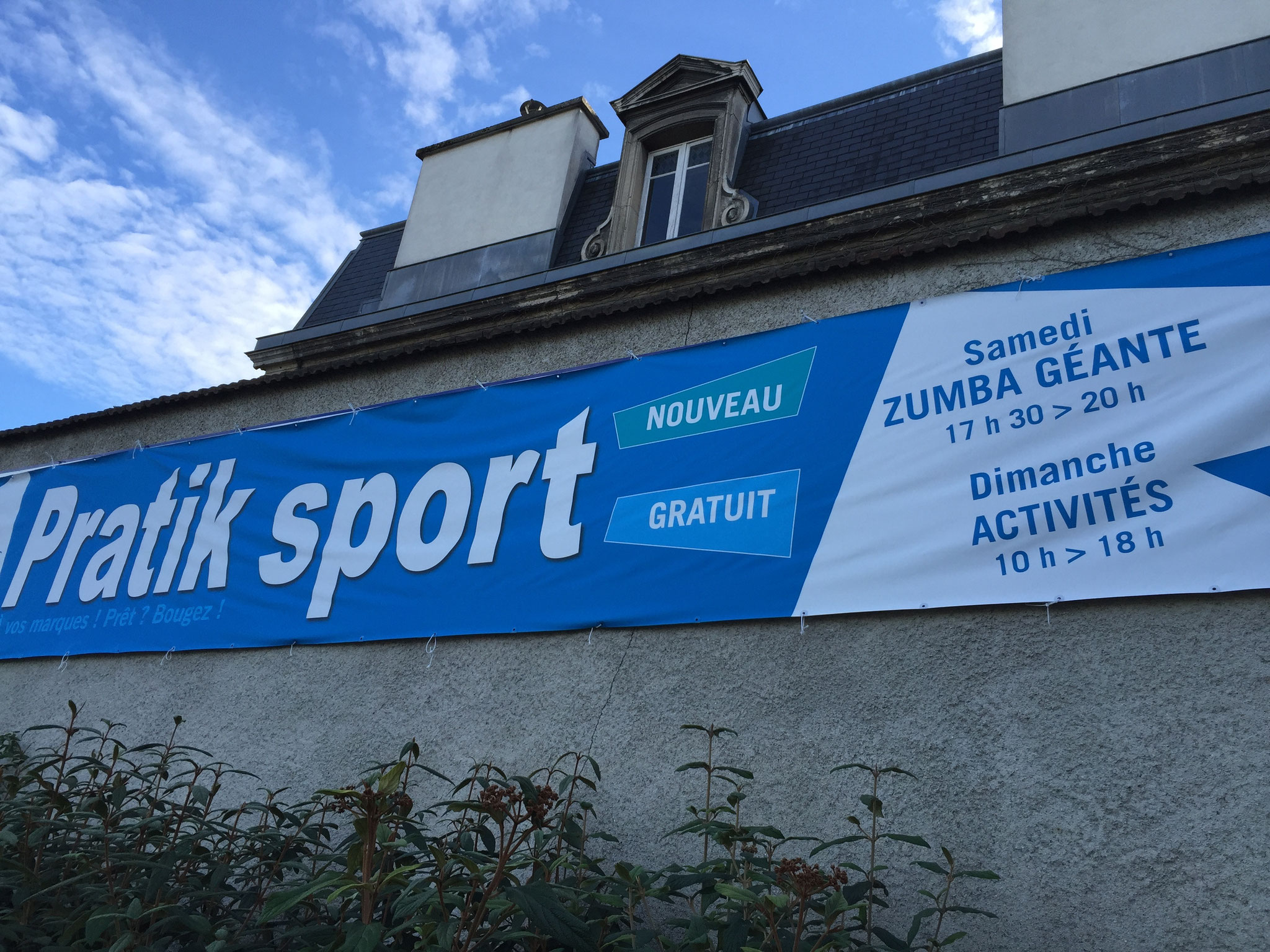 Pratik Sport à Reims