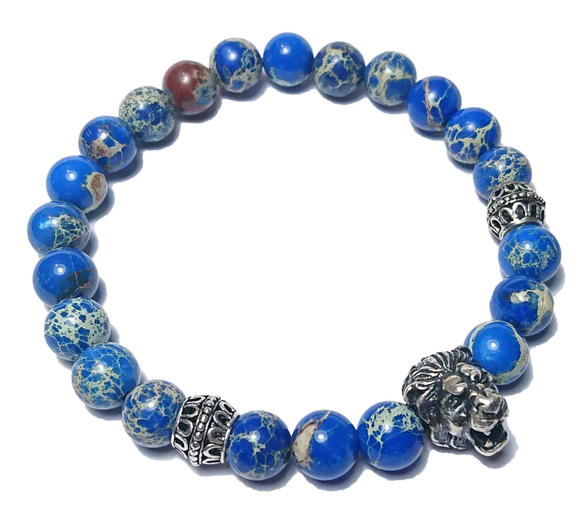 BEHERO Lion (blau) Armband