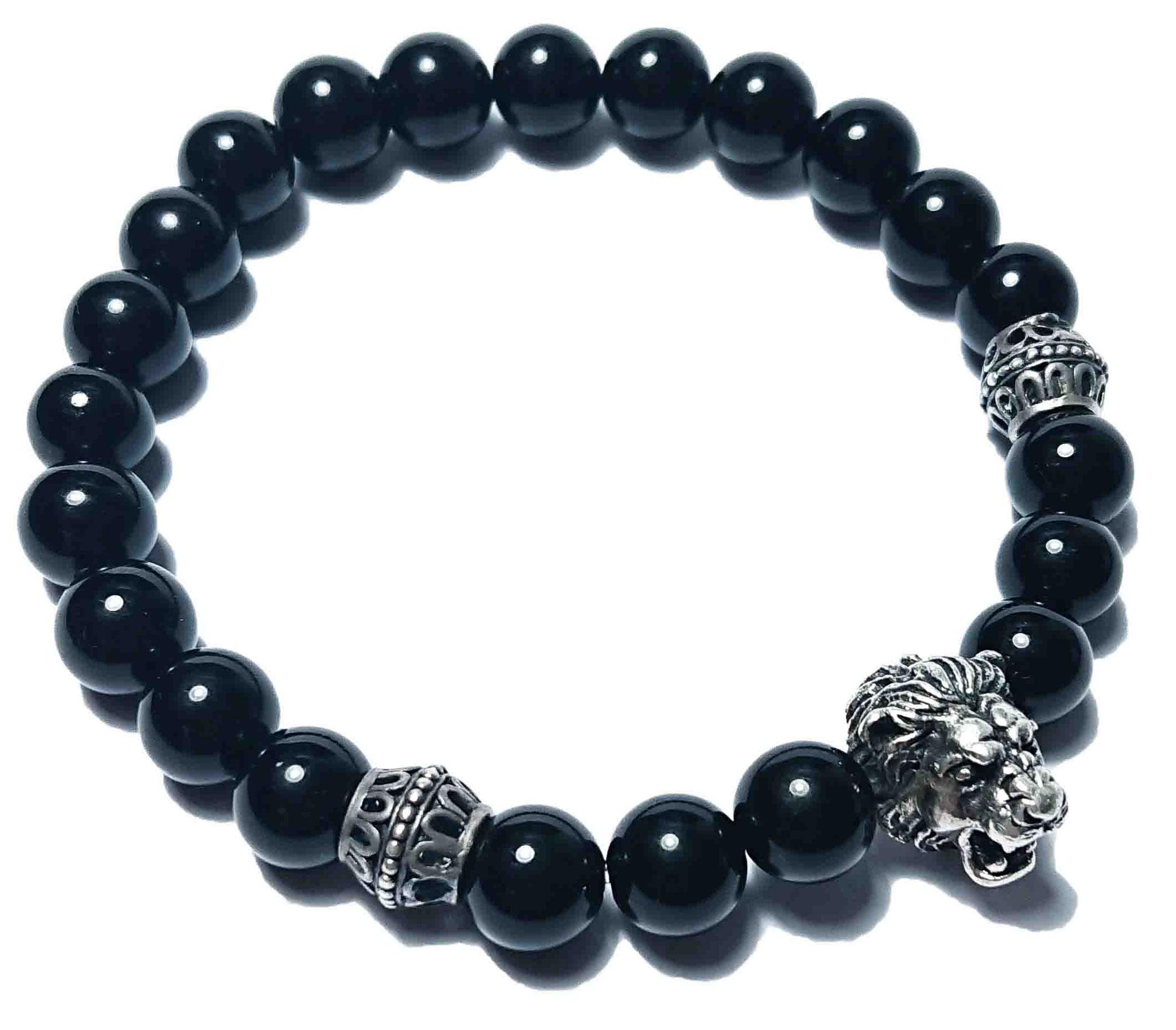 Lion (schwarz) Armband