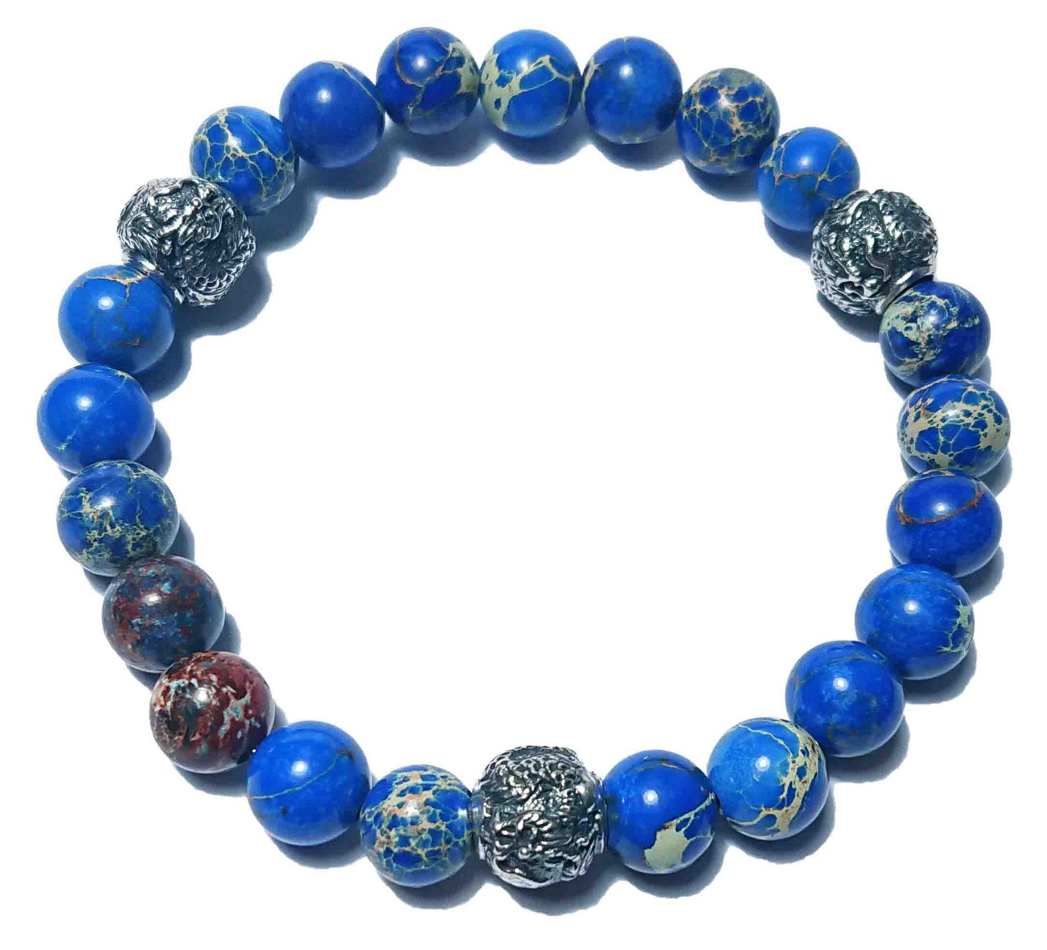 Shenlong (blau) Armband