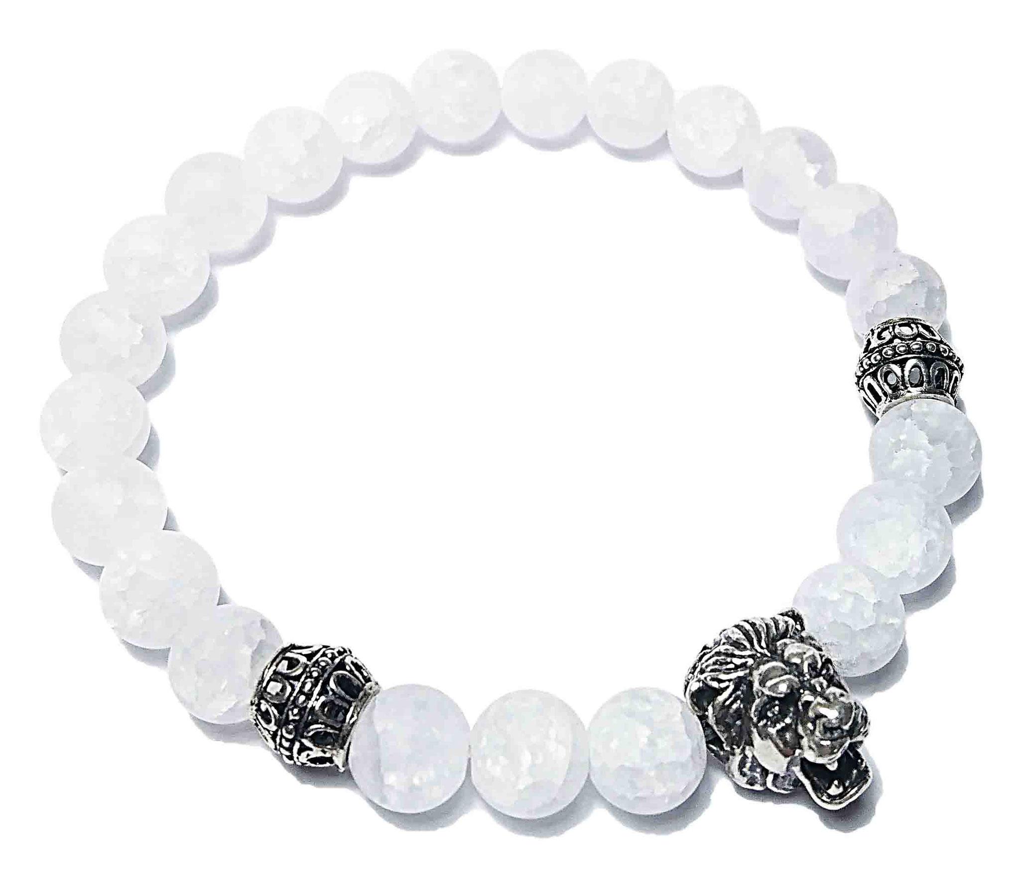 Lion (weiß) Armband