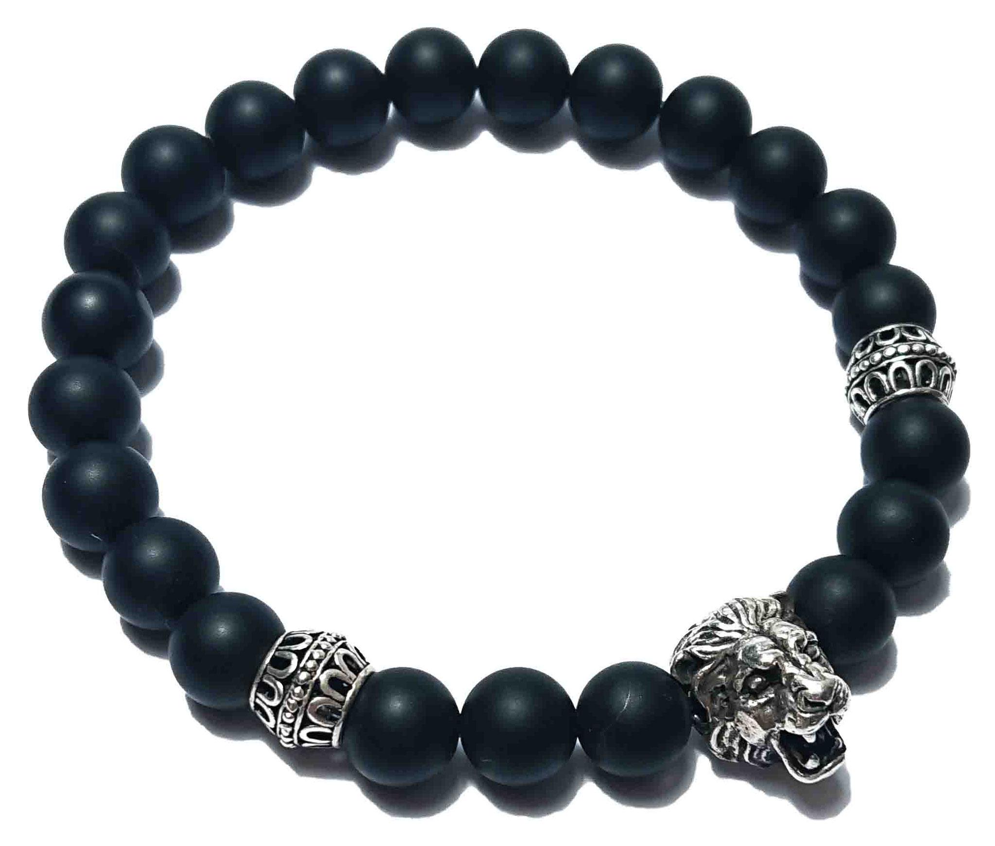 Lion (matt schwarz) Armband