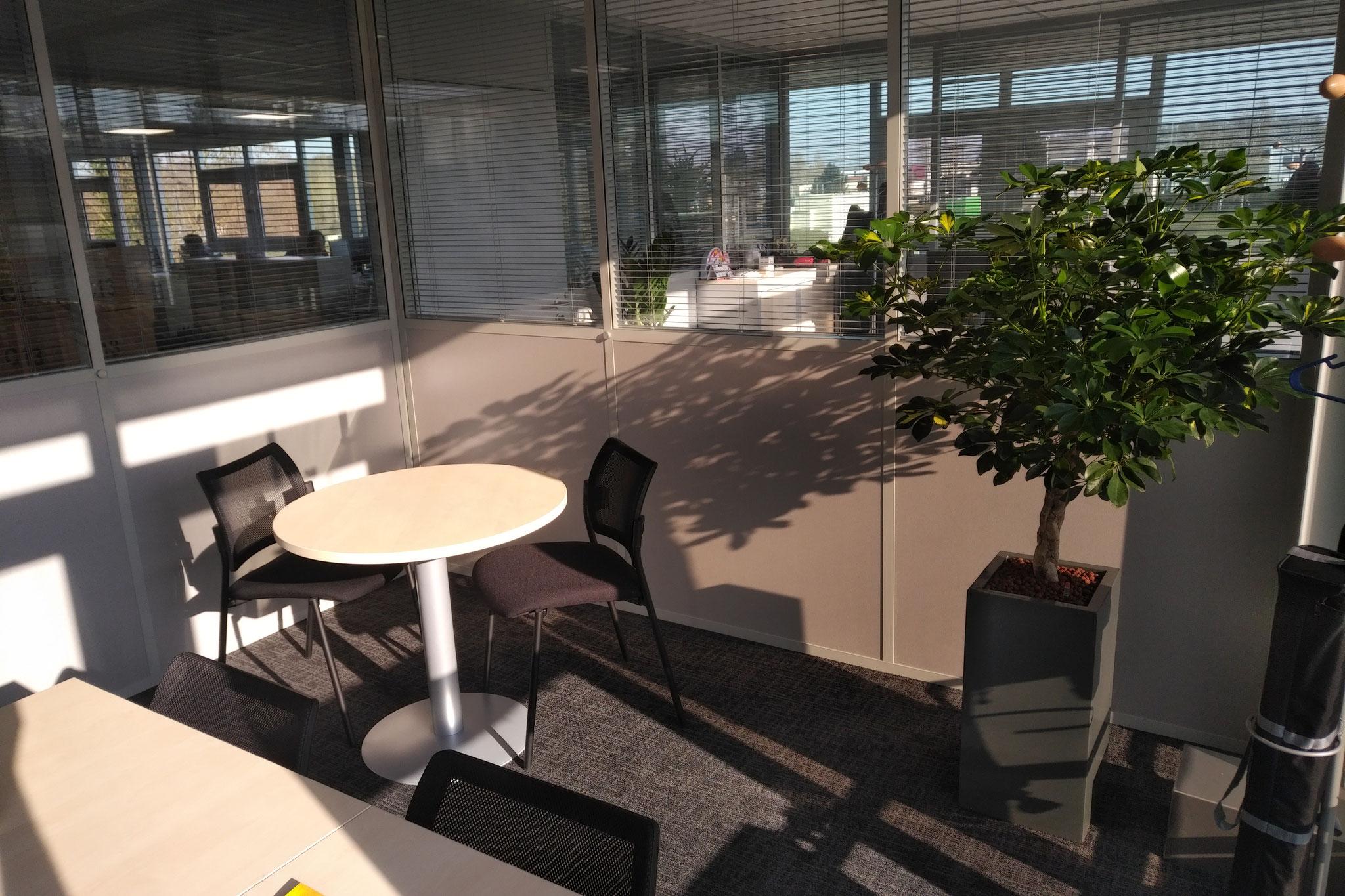 Paysagiste d'intérieur: Location de plantes pour cette entreprise située en région Parisienne