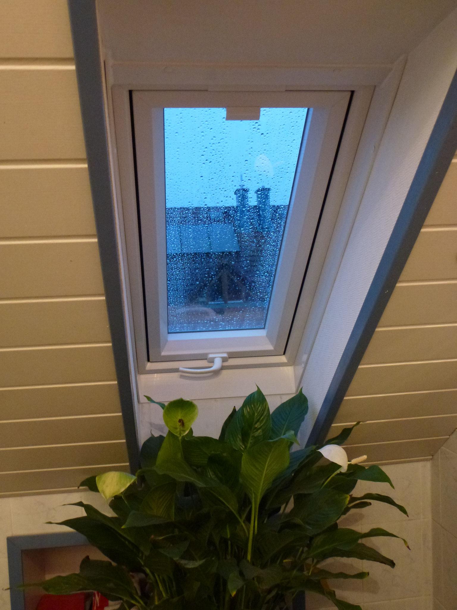 Renolux-Fenster in einem Badezimmer