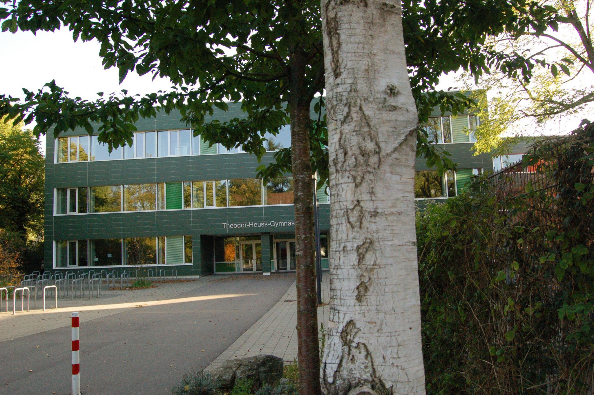 Theodor Heuss Gymnasium Freiburg (mit Bienenhotel)