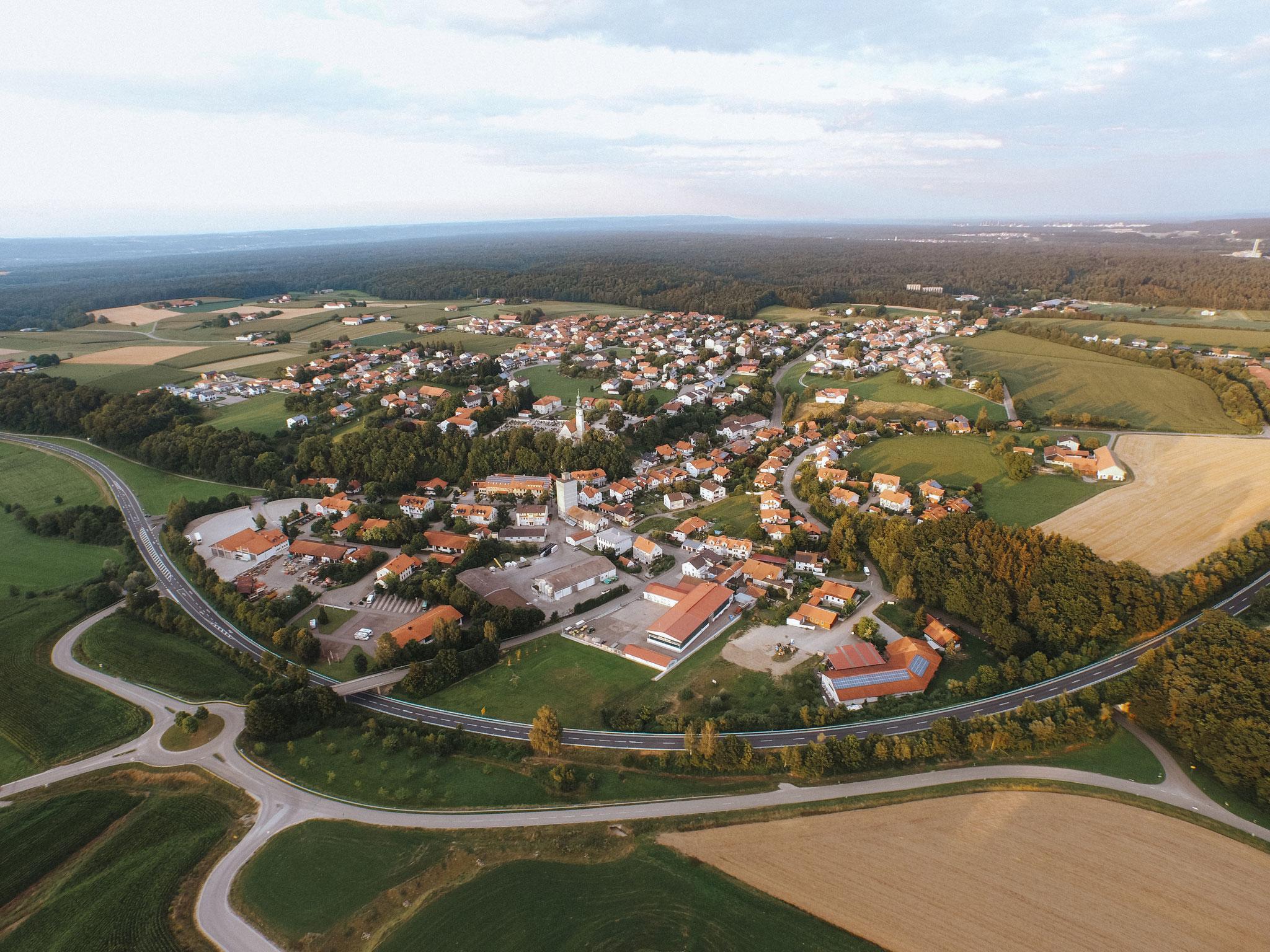 Luftaufnahmen für Gemeinden und Städte