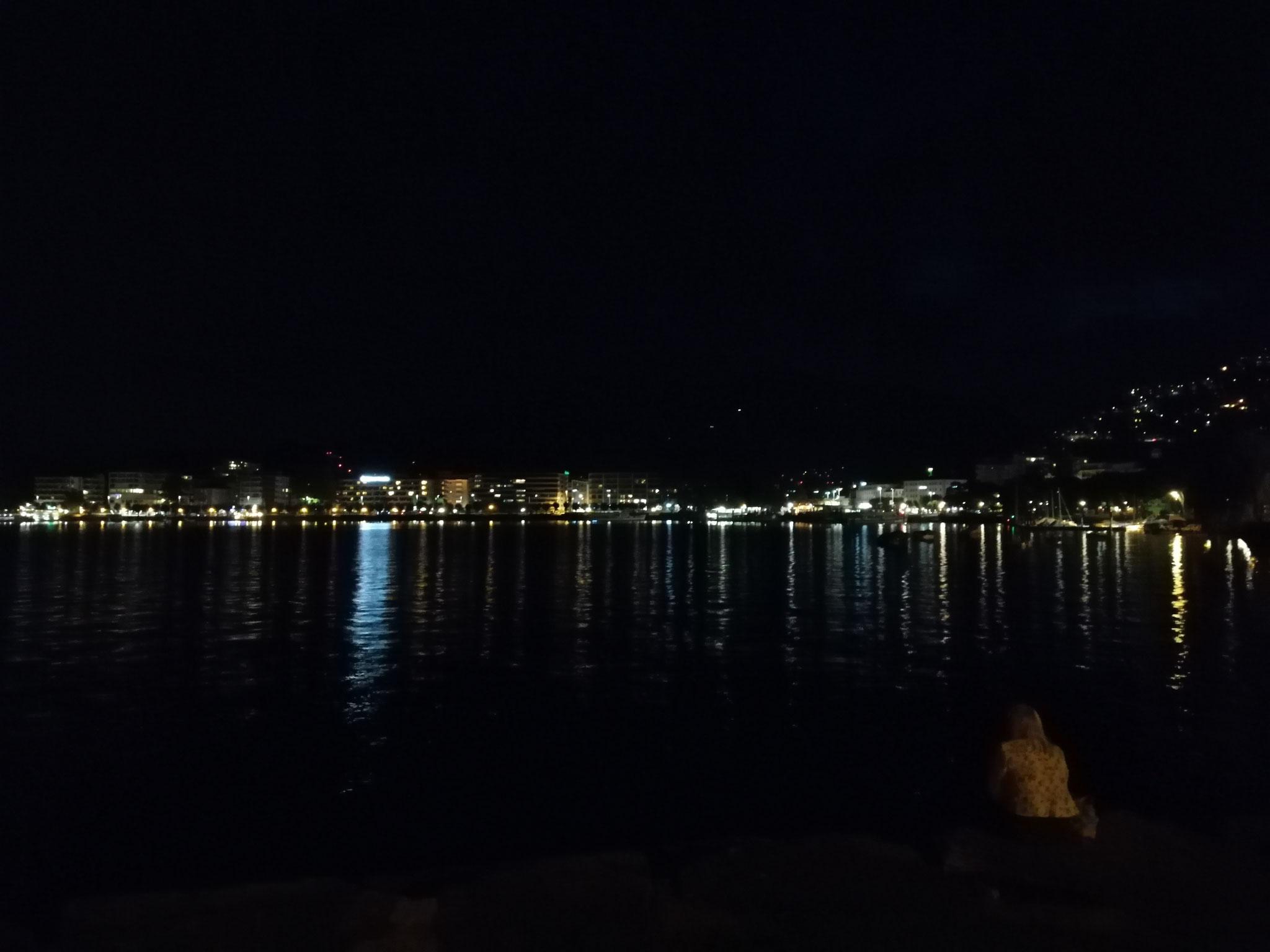 Locarno bei  Nacht
