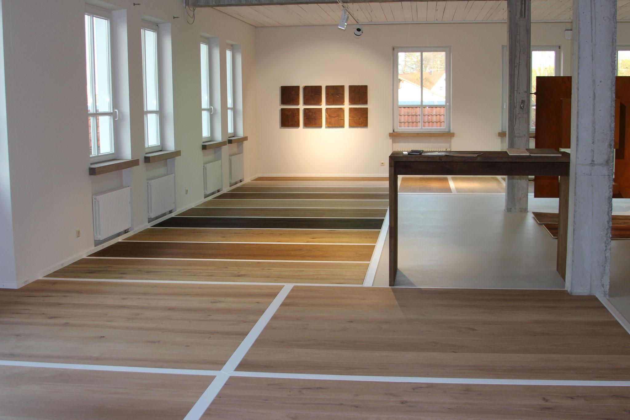 Fendt Holzgestaltung Showroom