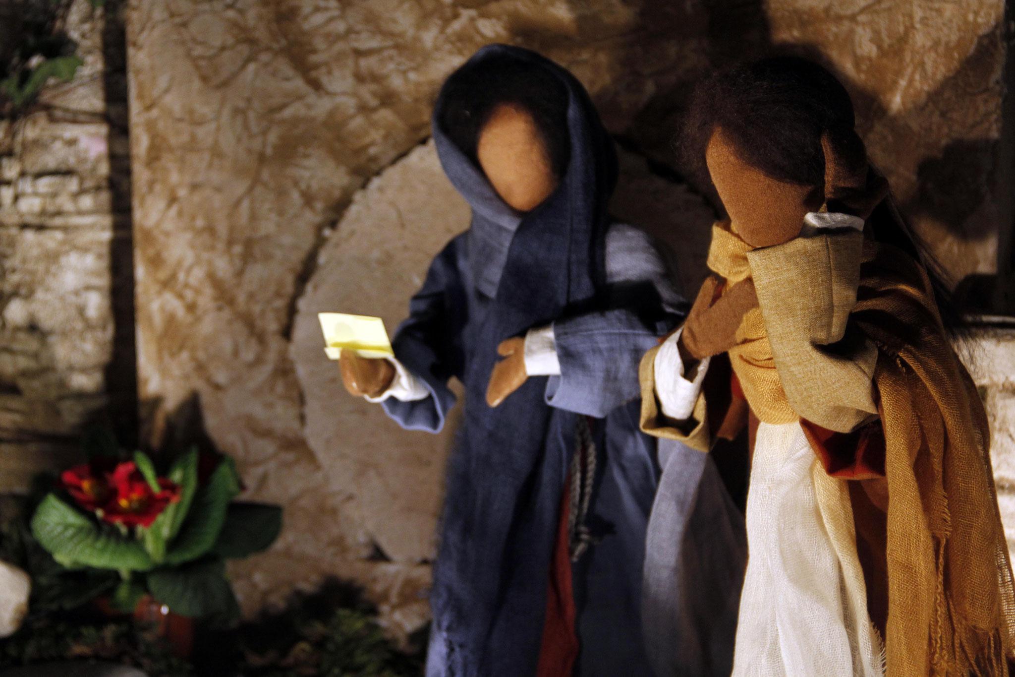 In jener Zeit sandten die Schwestern des Lazarus Jesus die Nachricht: Herr, dein Freund ist krank.
