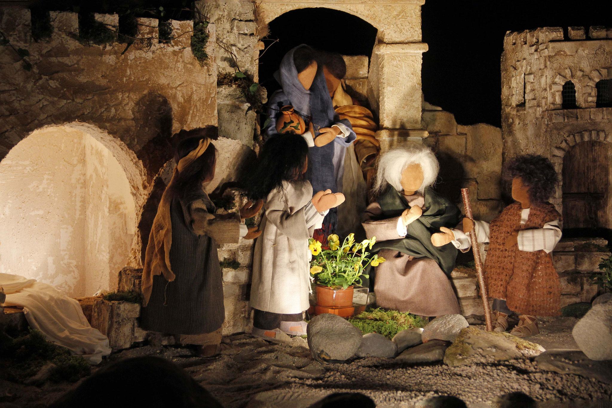 Viele der Juden, die zu Maria gekommen waren und gesehen hatten, was Jesus getan hatte,