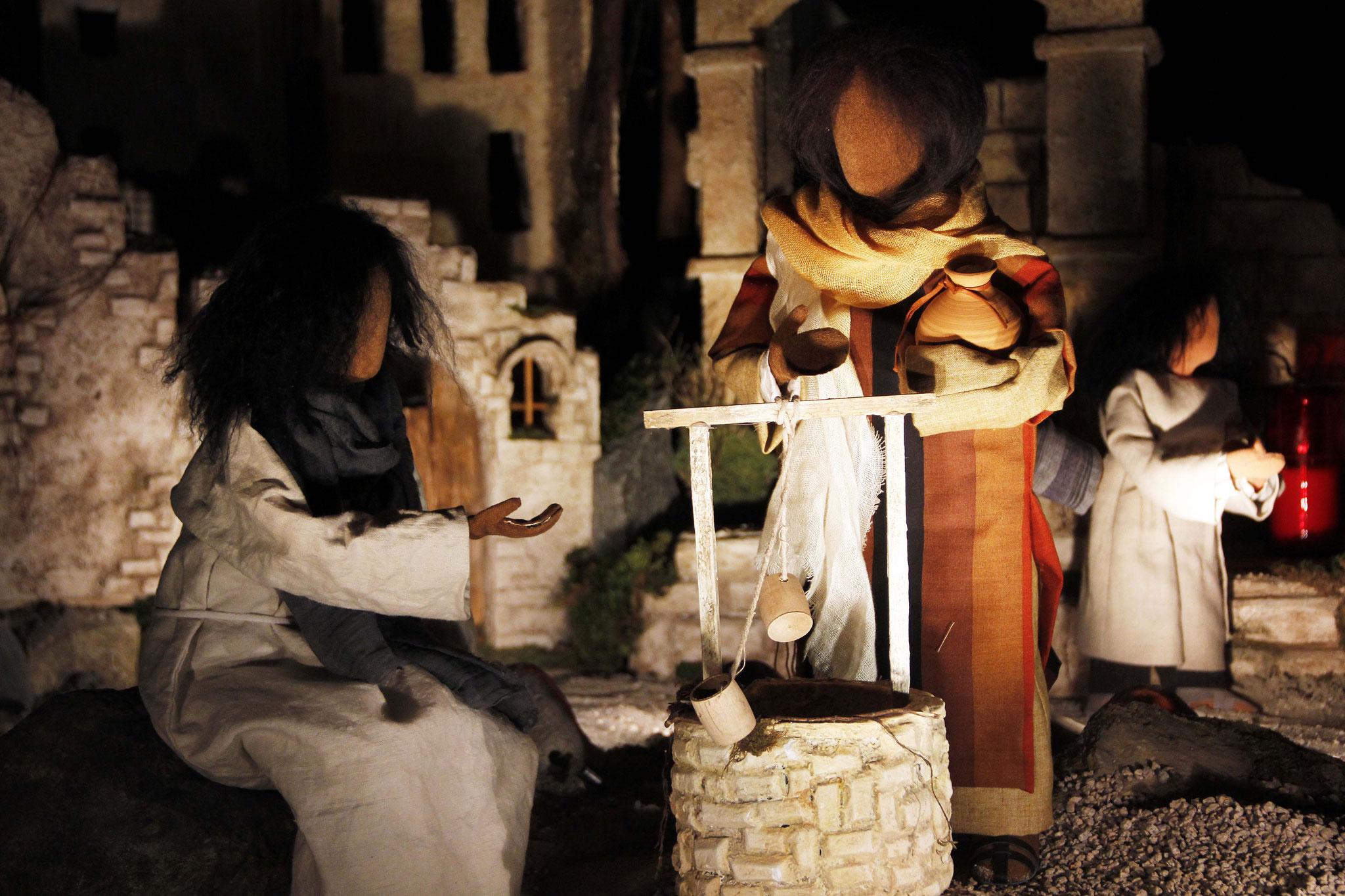 """Jesus bat sie: """"Gib mir zu trinken!"""" Die Frau sagte: """"Wie kommt es, dass du ein Mann aus Israel, ein Jude, mich um Wasser bittest?"""""""