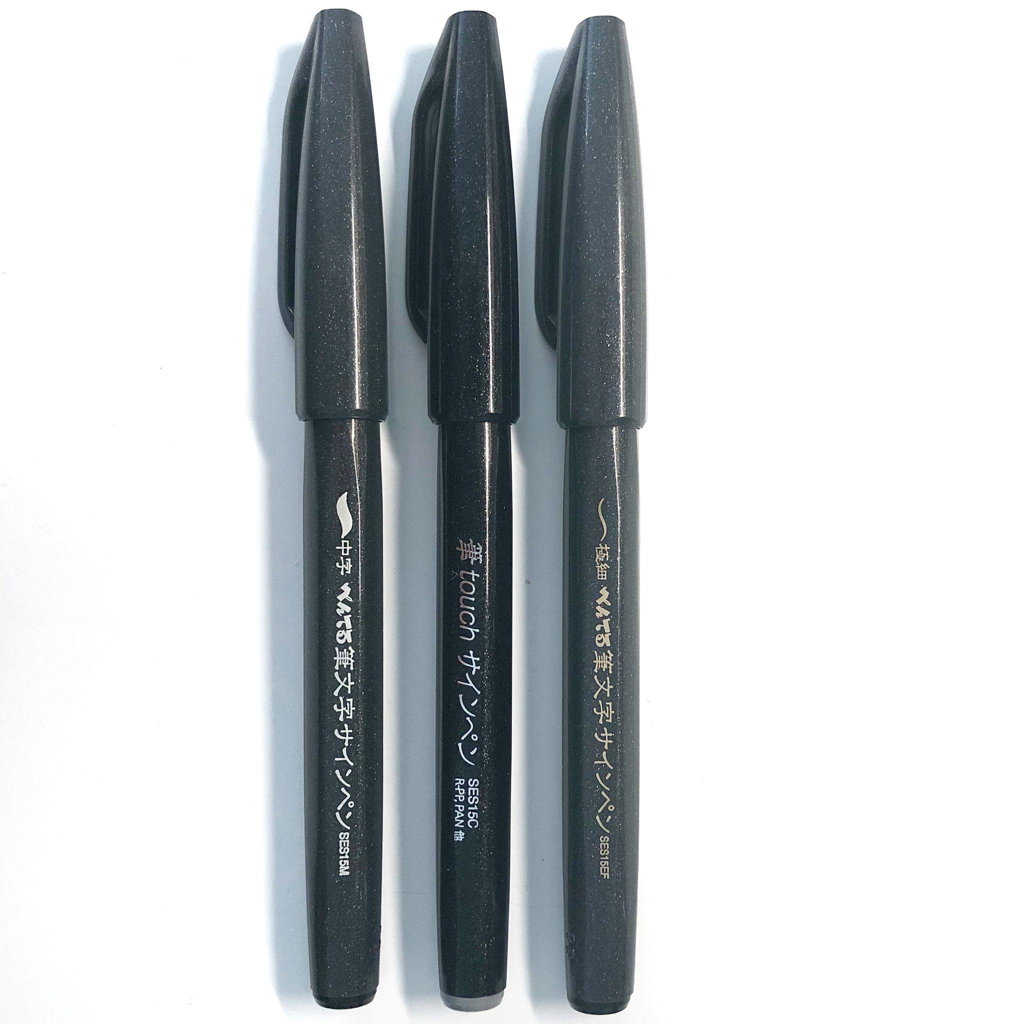 Sign Pen in breit, mittel und fein