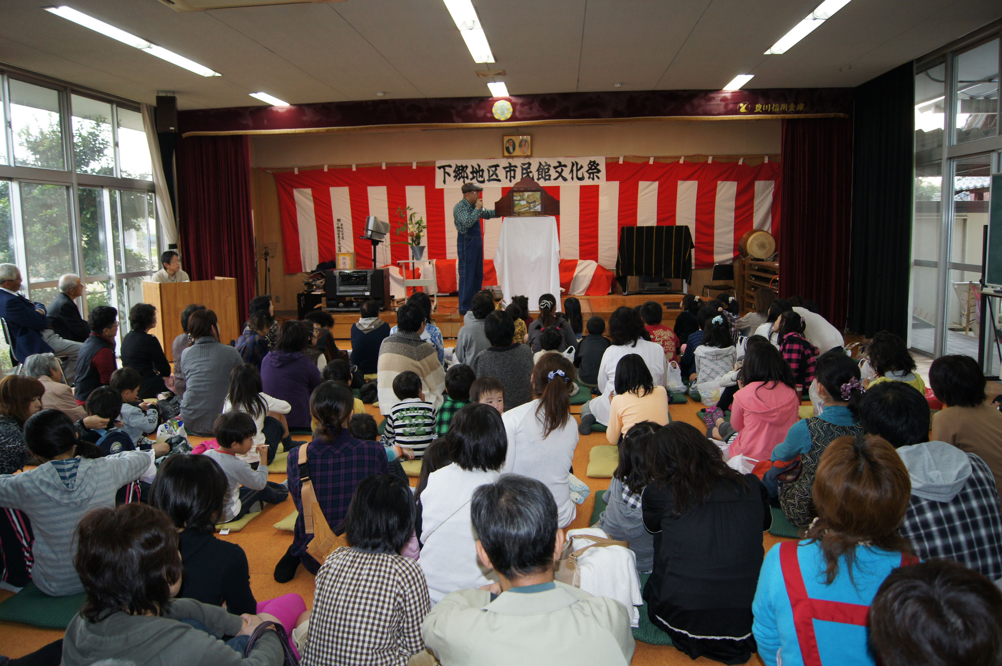 公演の様子(愛知県豊川市)