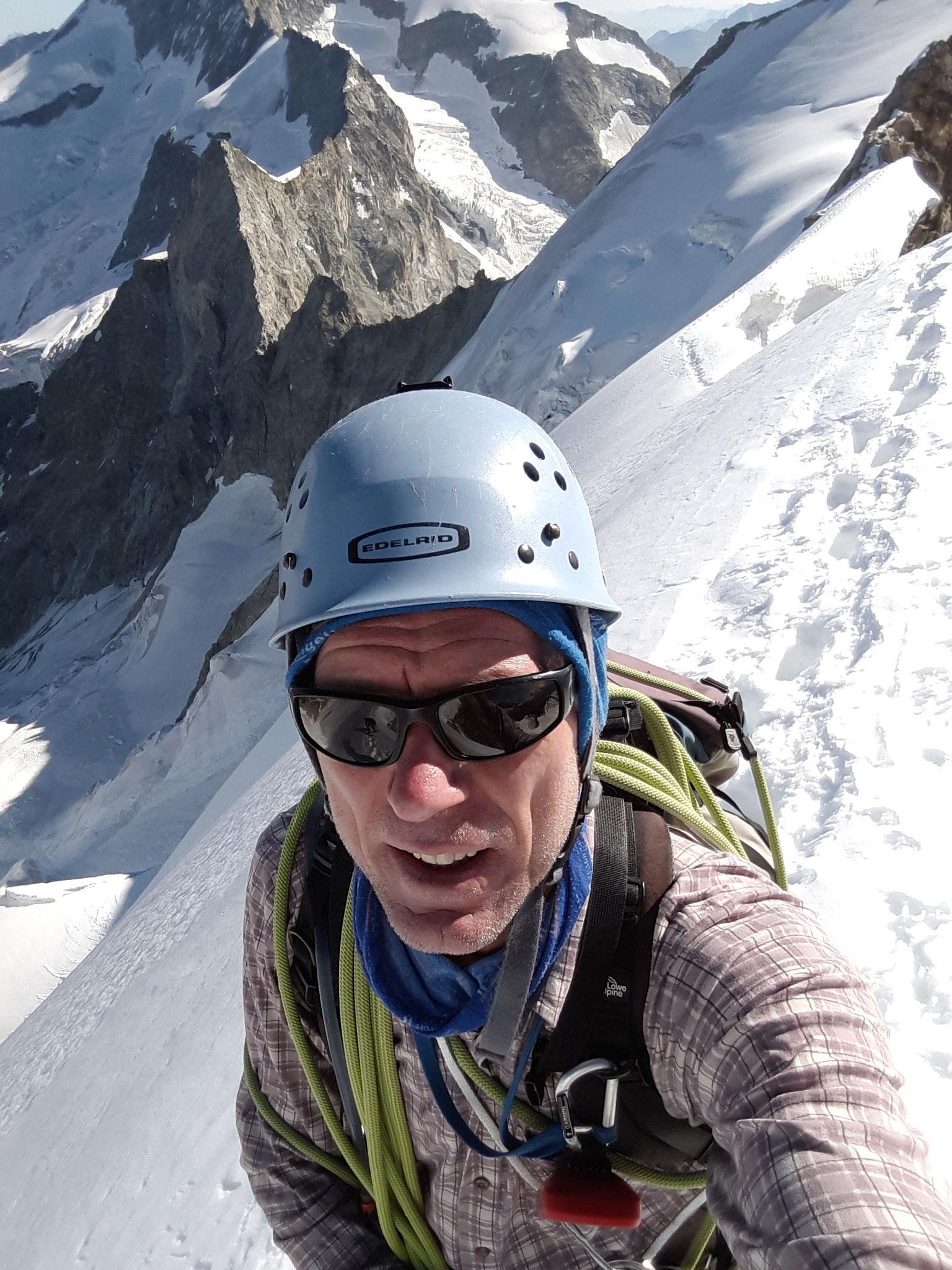 Firngrat am Obergabelhorn-3900m