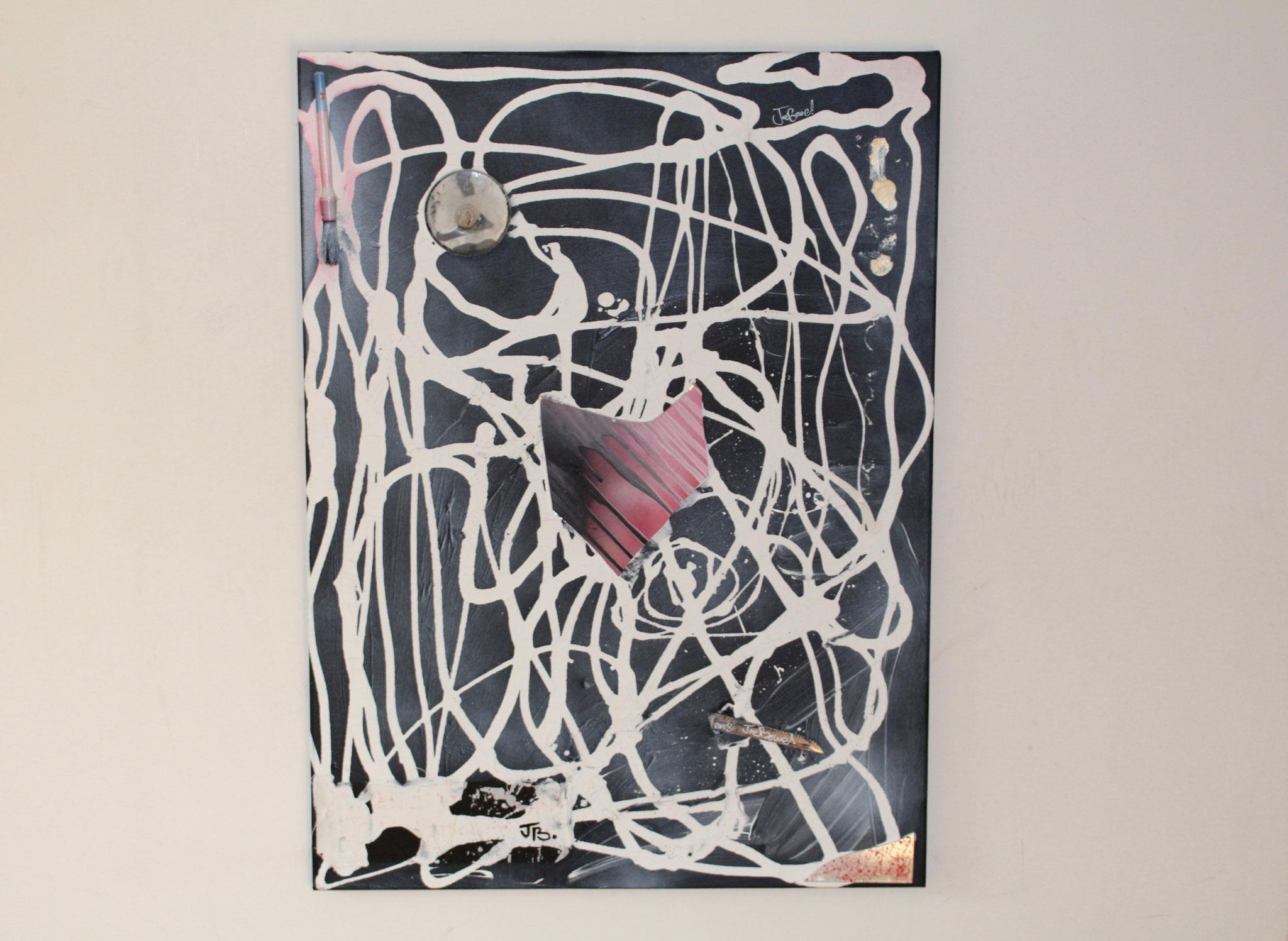 11. ''Untitled.'' mixed media     (€760)