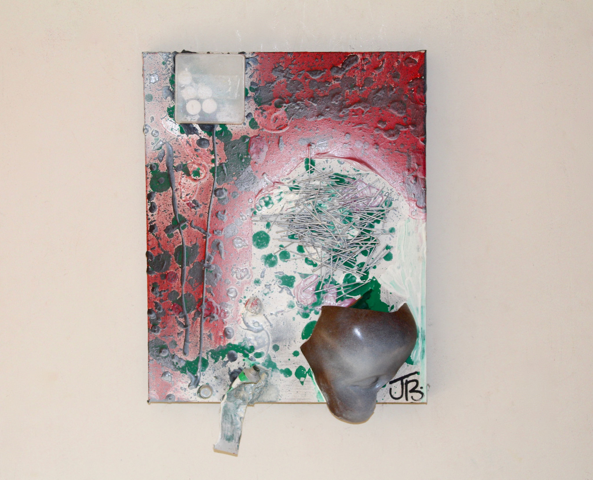 52. ''Lost Mind.'' (40x30cm) mixed media on canvas. 2013
