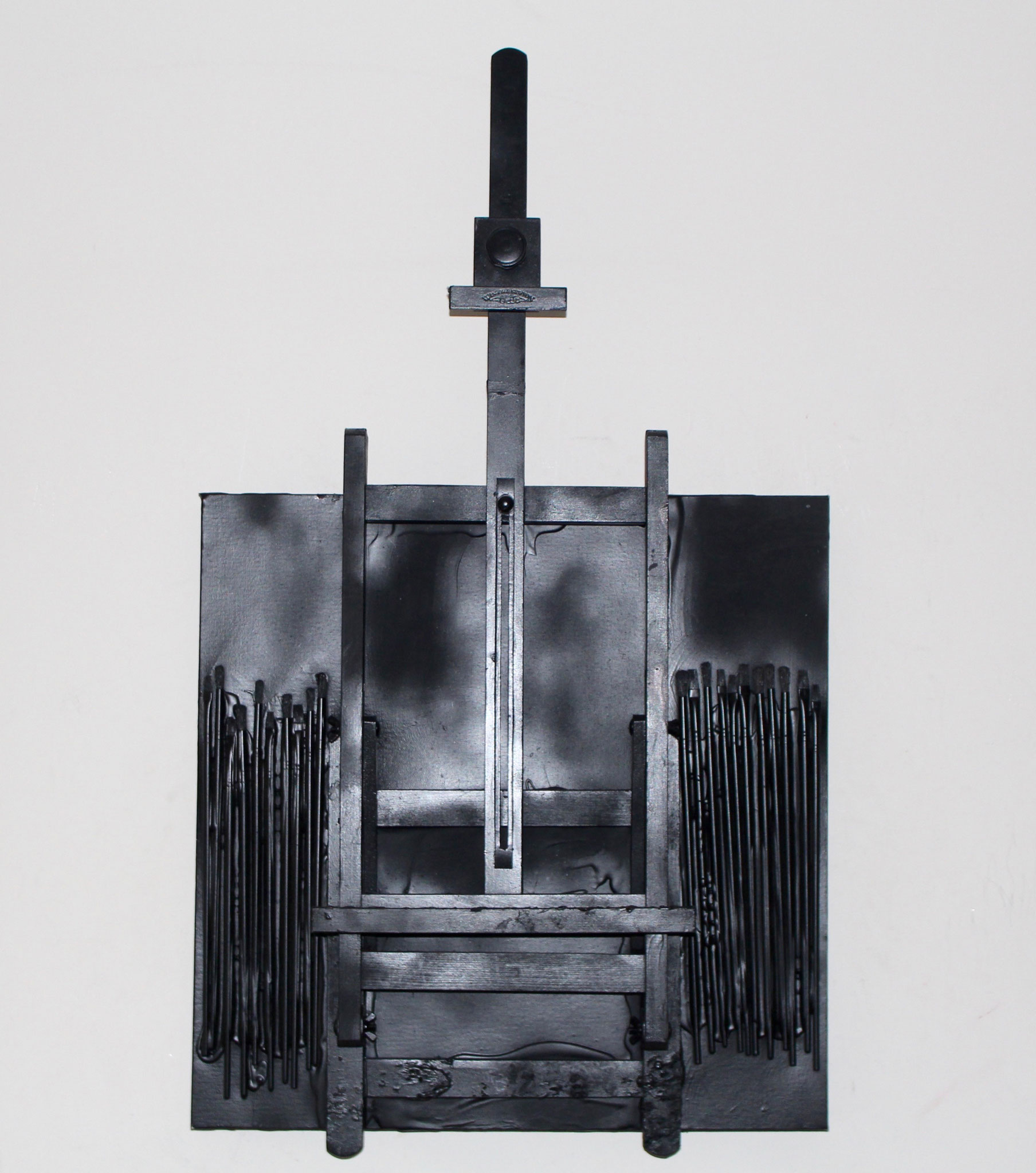 45. ''Black Easel.''