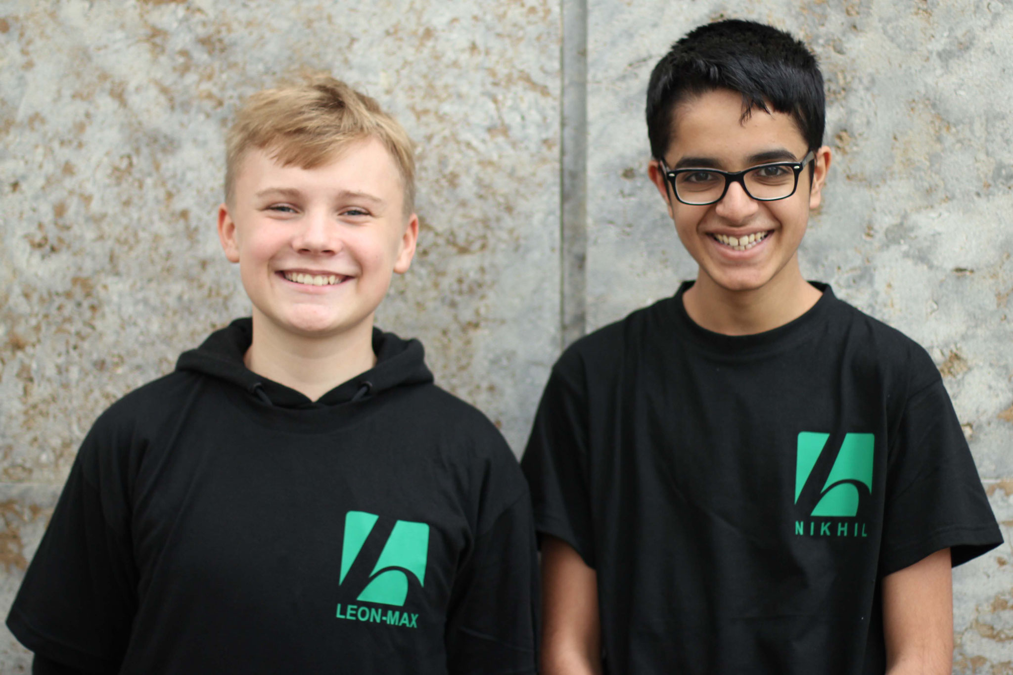 Team Leon und Nikhil
