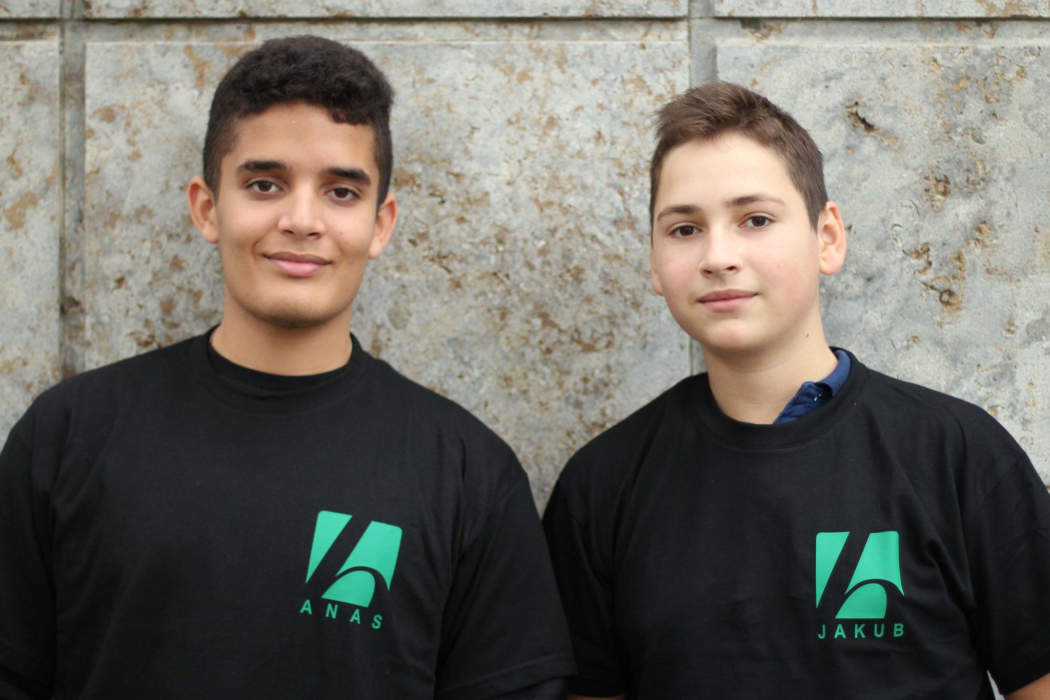 Team Anas und Jakub