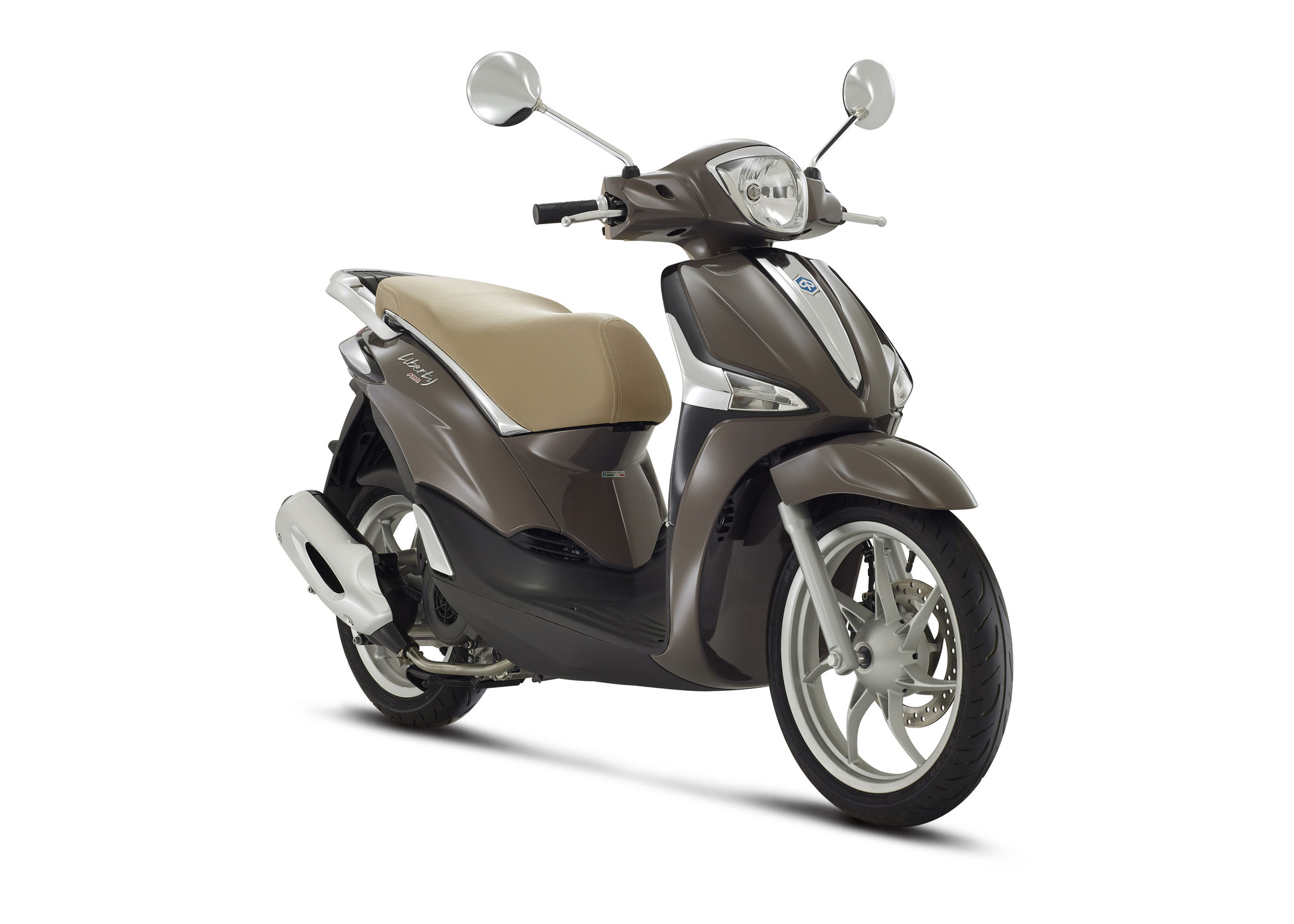 Piaggio Liberty 4t3v Iget Euro4 25/45 km/h bruin: € 2609,- Voor meer informatie, klik op de foto.