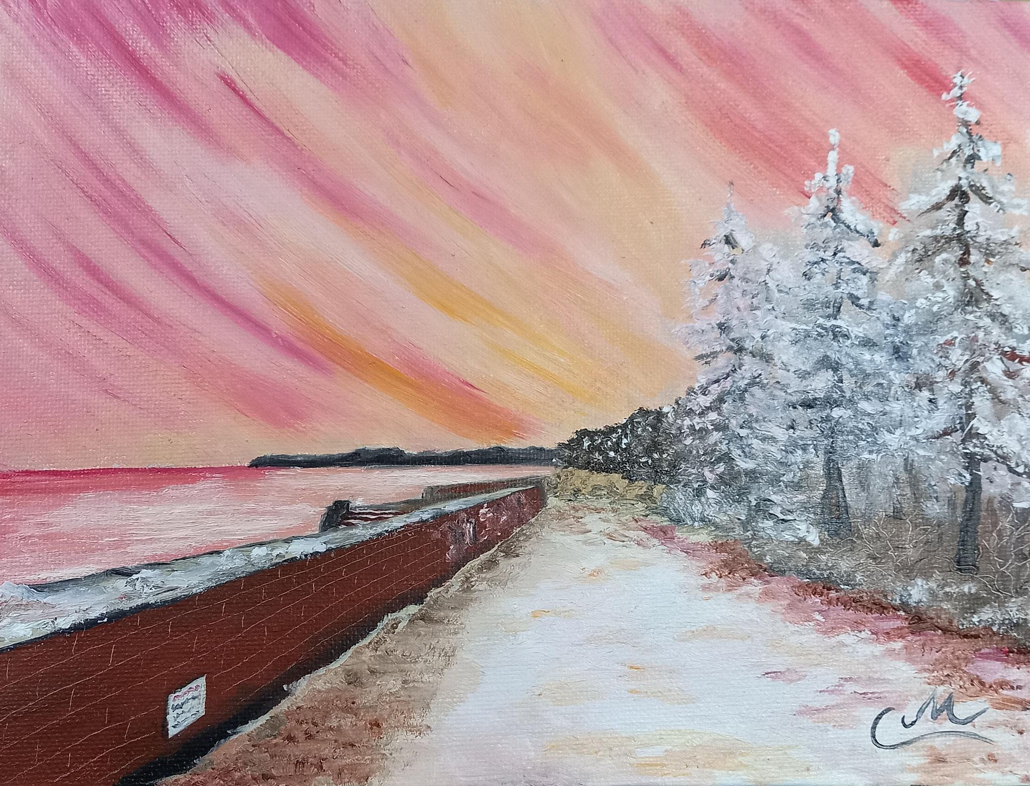 Winter in Prora