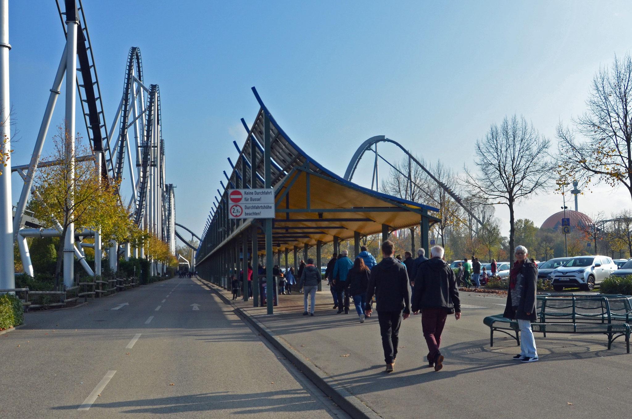 2. Tag, Besuch im Europapark Rust