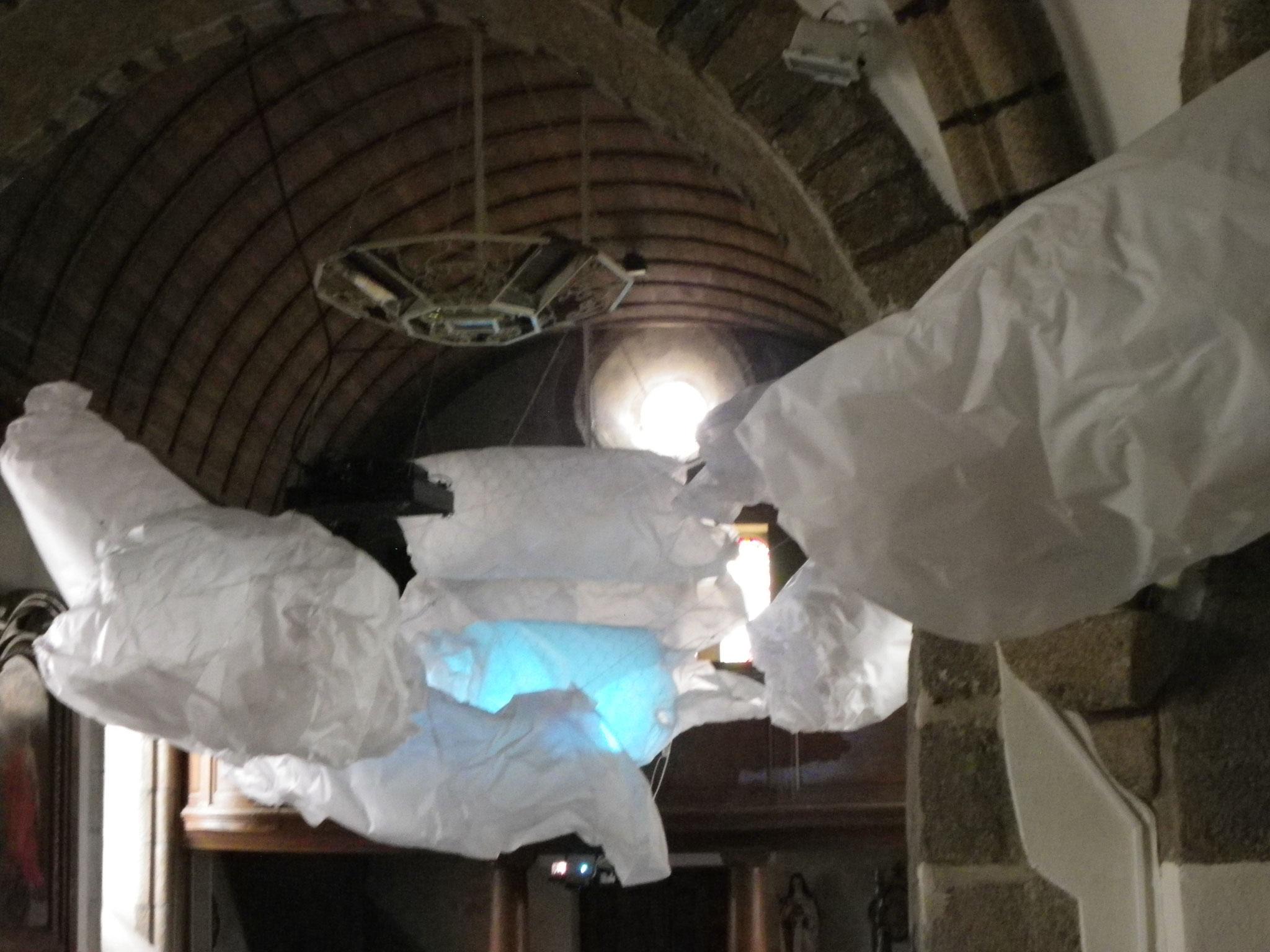 """Nuages"", Carlotta Brunetti - Yquelon - Parcours 2016"