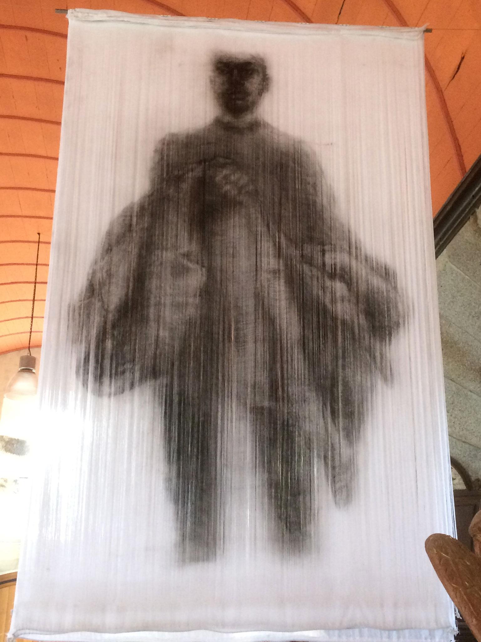 """""""Frères humains"""", Florence Vasseur - Anctoville-sur-Boscq - Parcours 2019"""