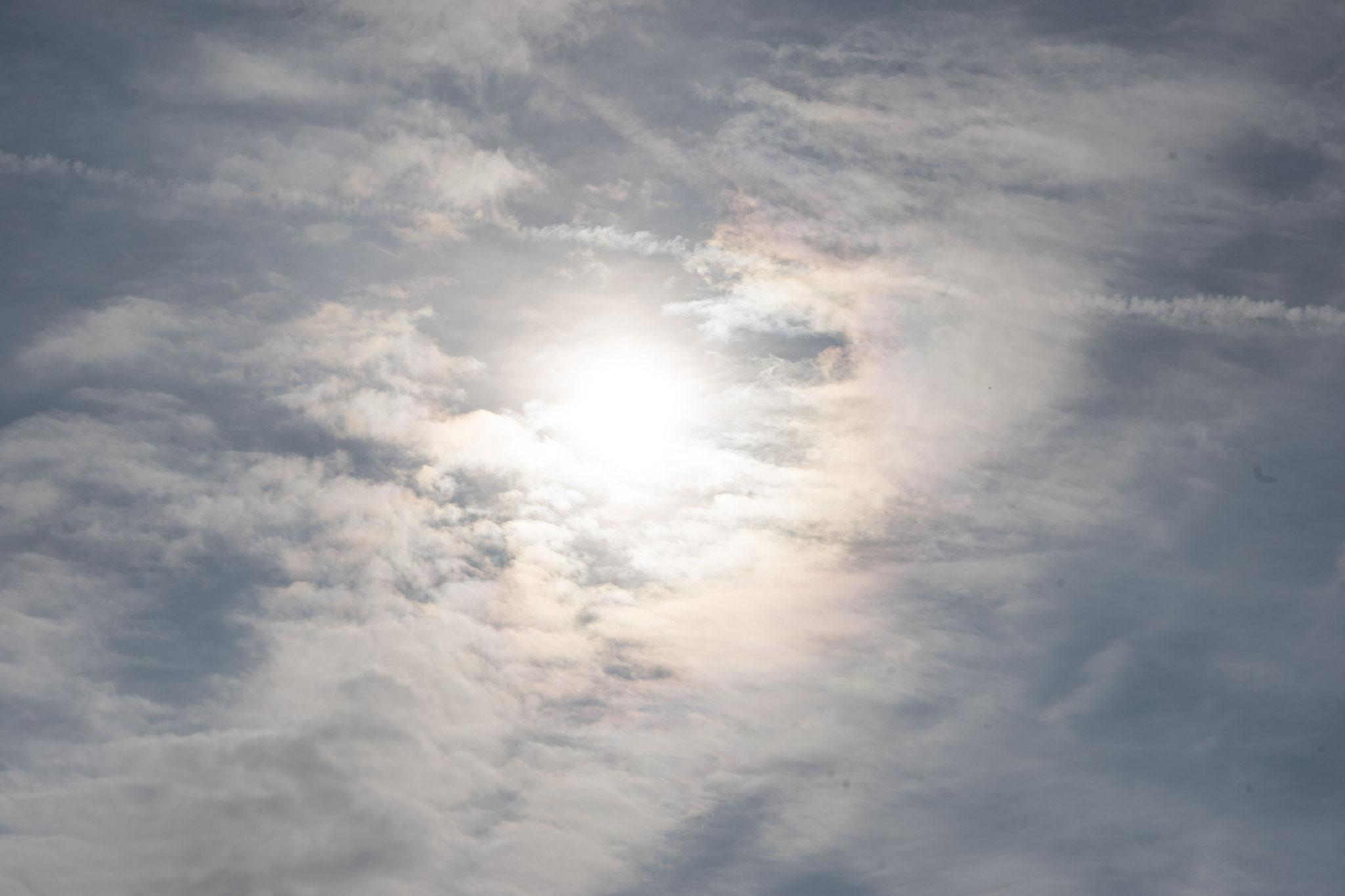 Die Sonne an diesem wunderschönen Septembertag darf auch nicht fehlen.