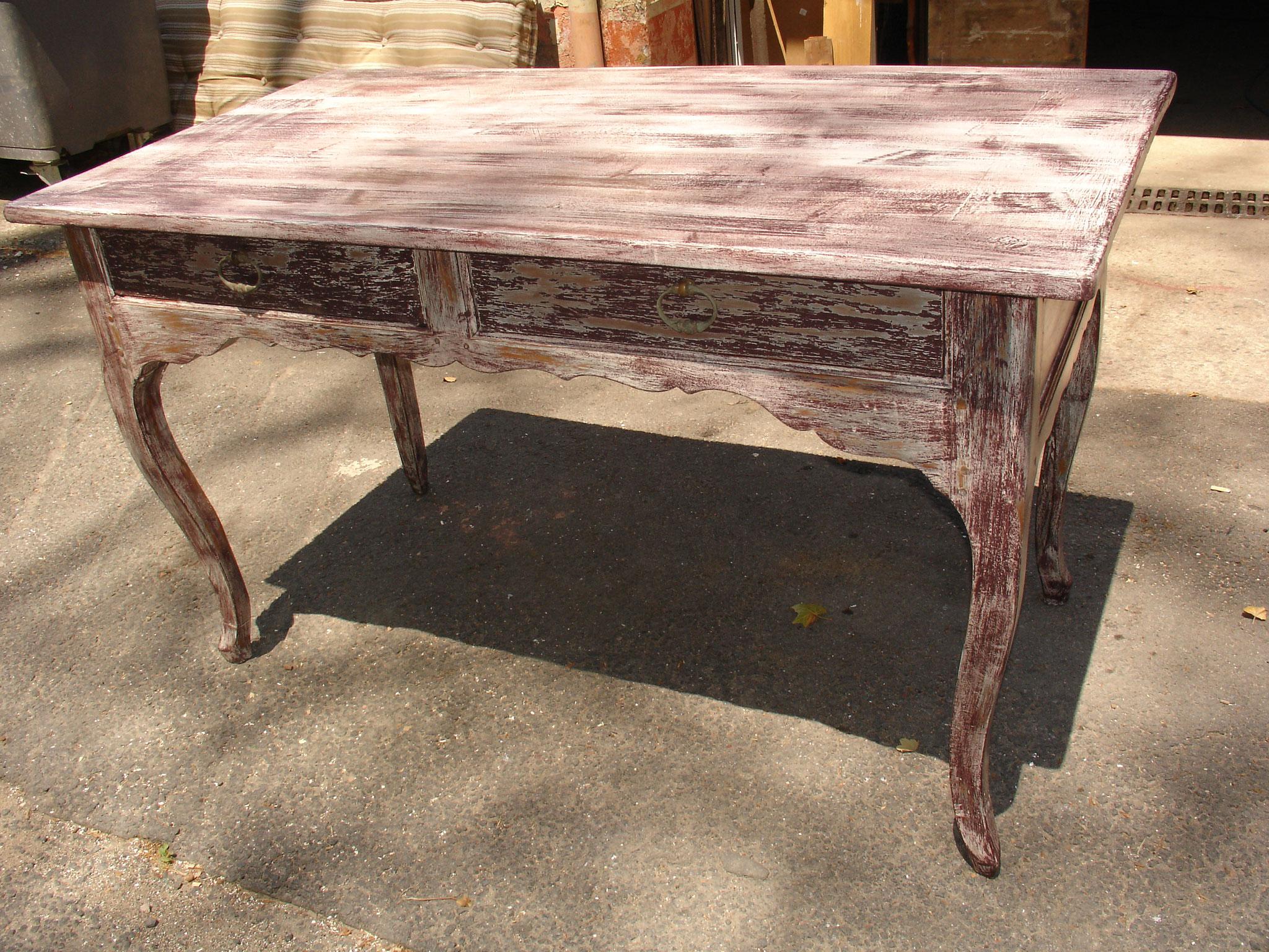 Relooker Un Meuble Avec Plateau En Marbre meubles relookés - brocanteur-antiquaire à beziers dans l
