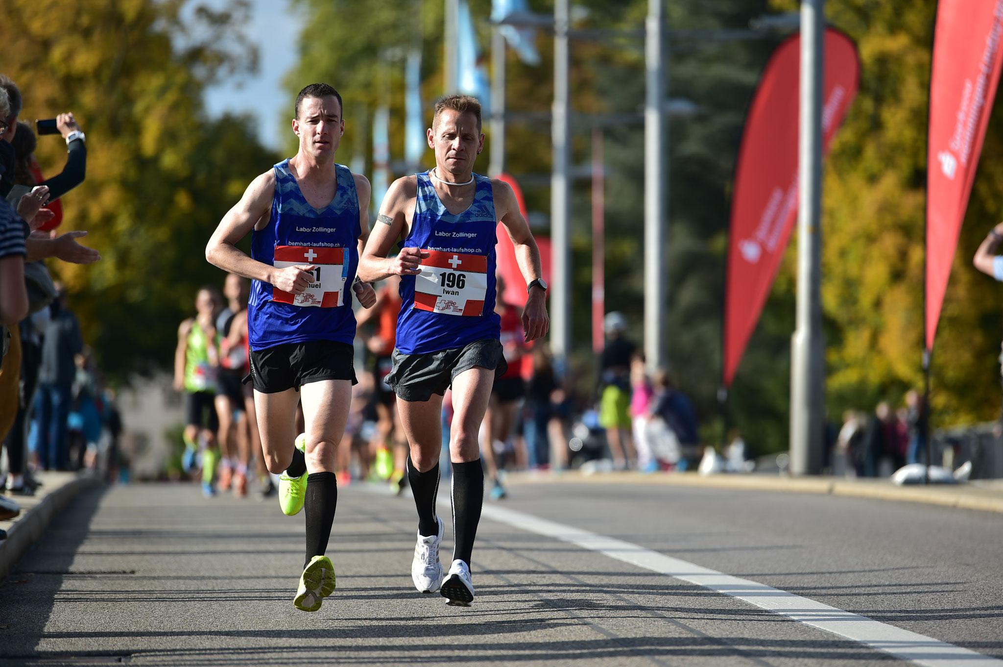 Schweizermeisterschaft Marathon - Dreiländermarathon 2018