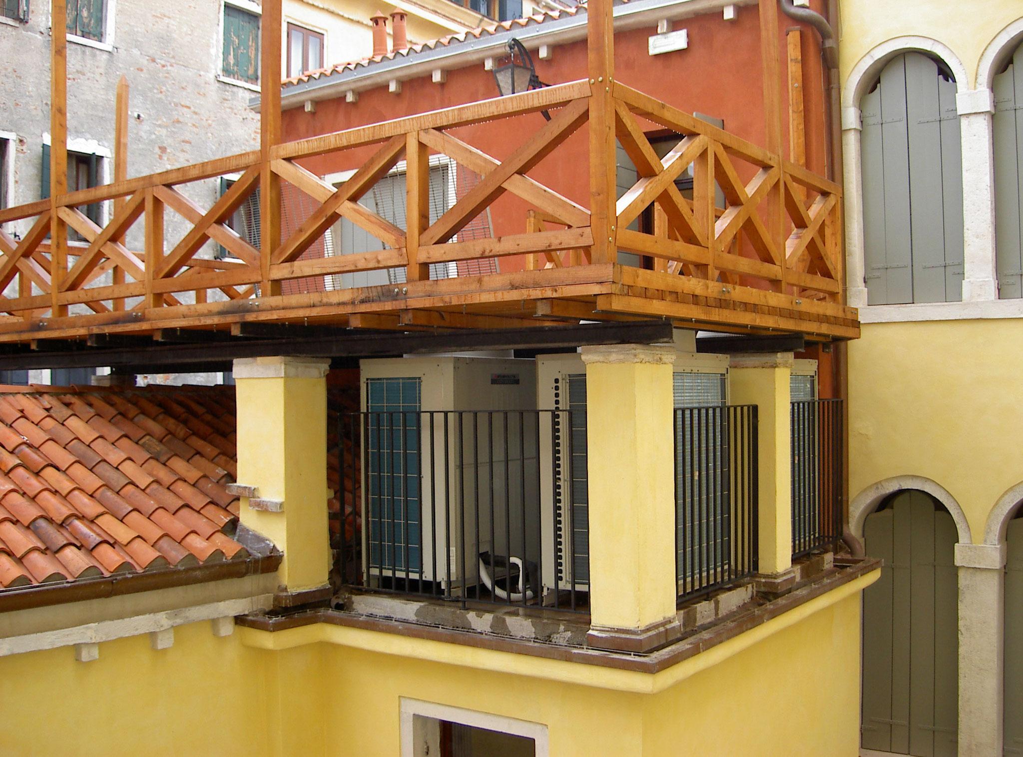 C.C.I.A.A. Venezia: bonifica frigo sotto altana
