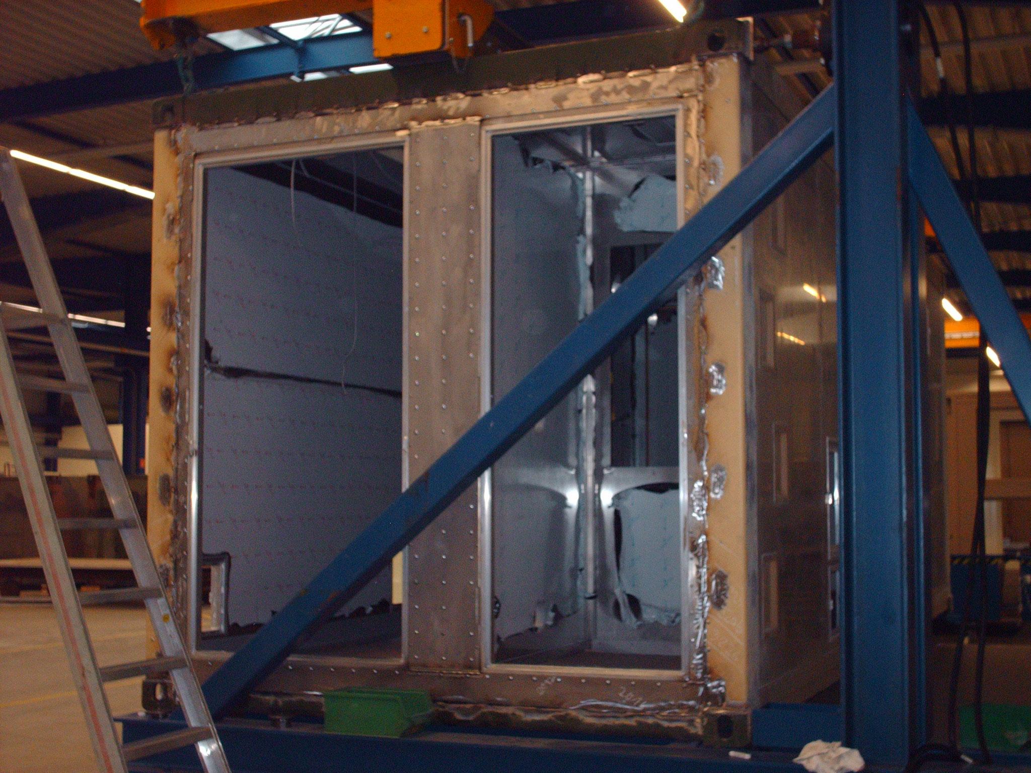 Container Rohbauabnahme