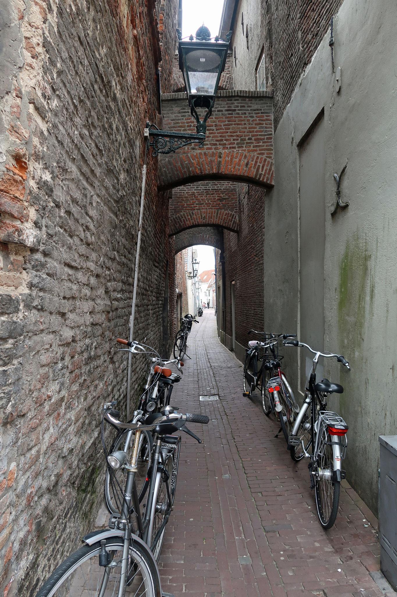 kleine Gasse in Kampen