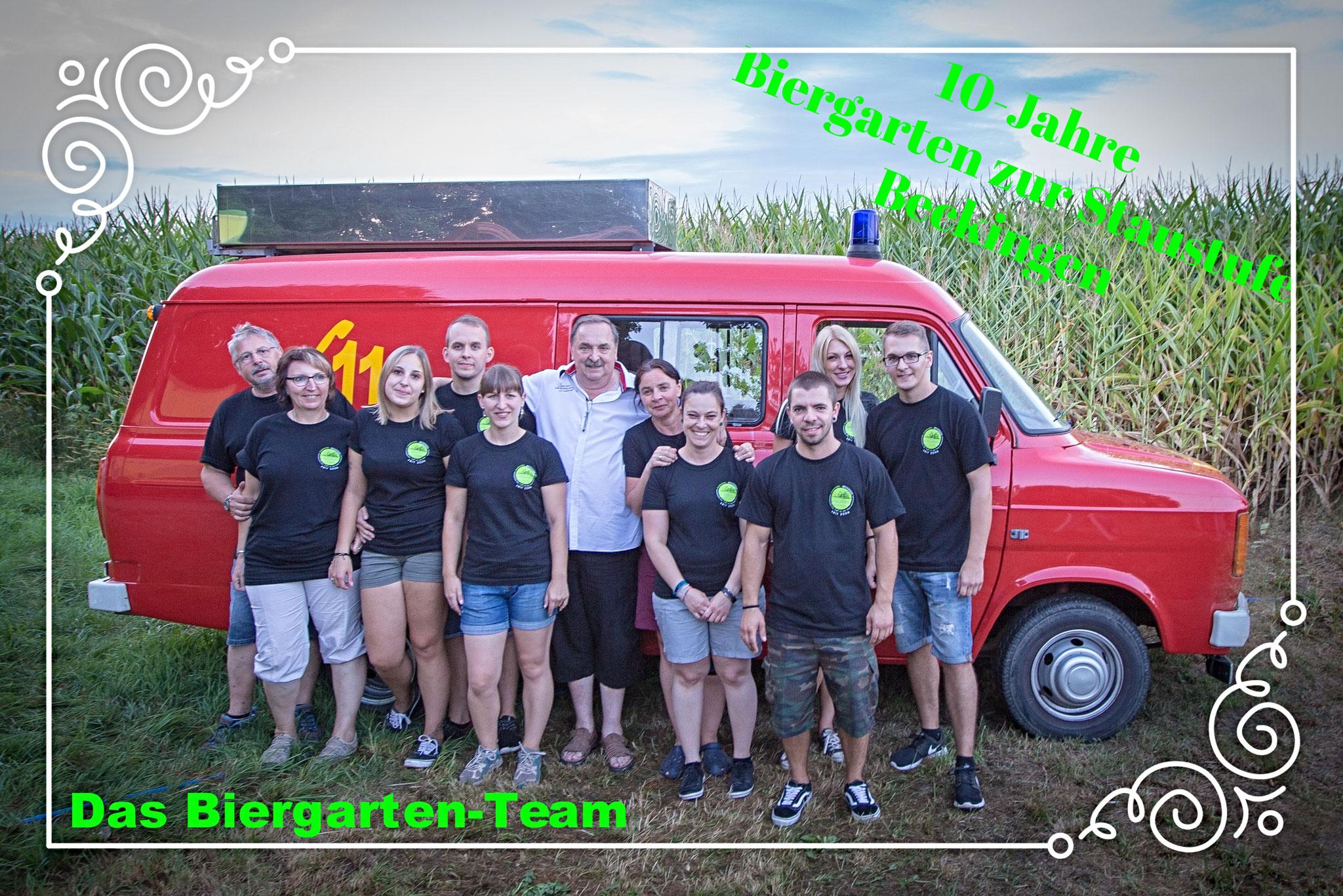 Das Biergarten-Team