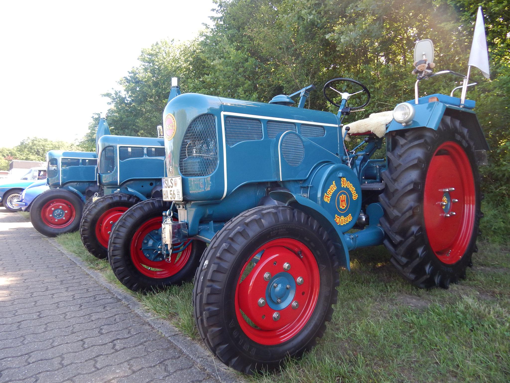 1. Oldtimer-Treffen am Biergarten zur Staustufe - Beckingen vom 11.06.2017