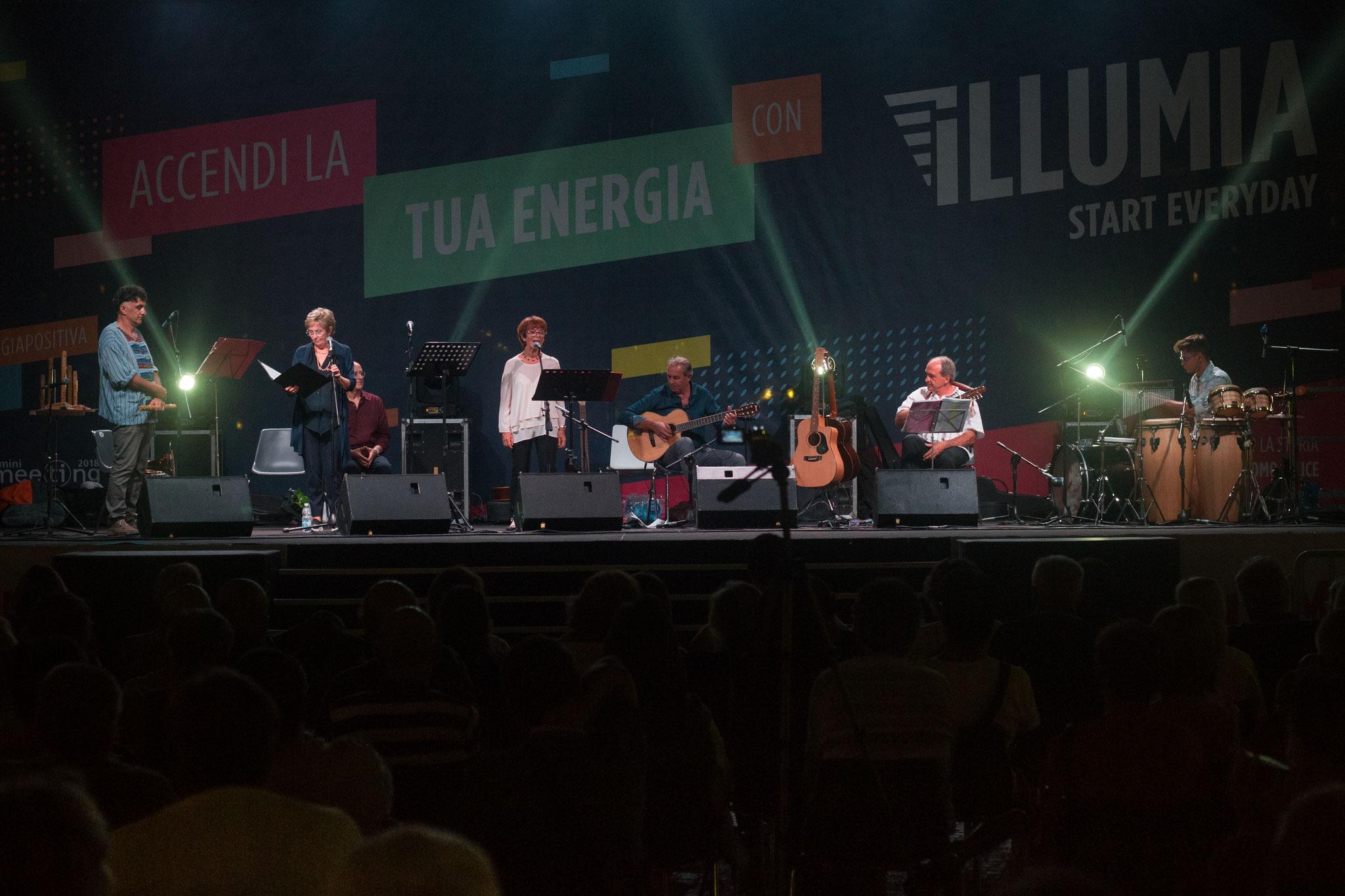 Yo canto la diferencia Metting di Rimini 2018