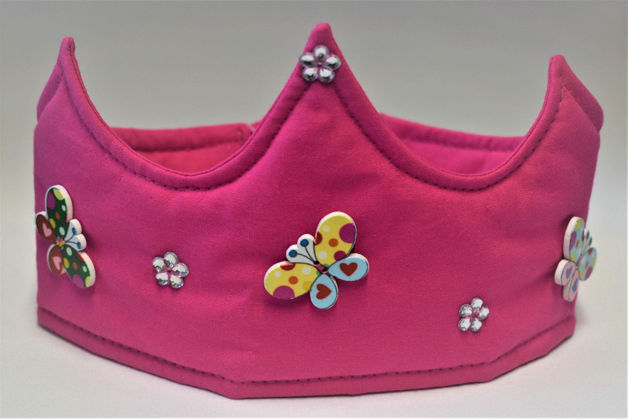 pink mit Schmetterlingen, 17,50€
