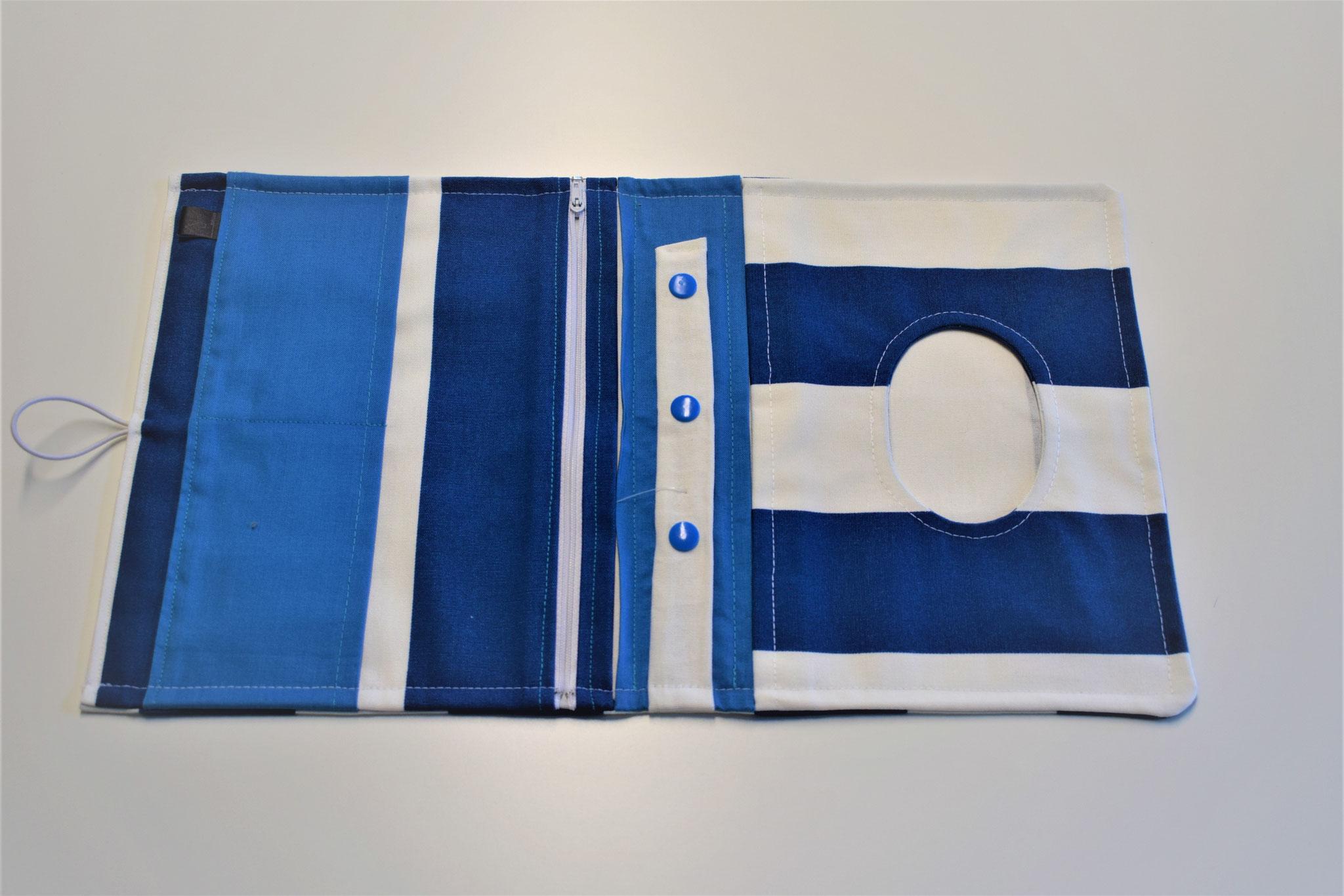 blau, weiss gestreift, 29,90€