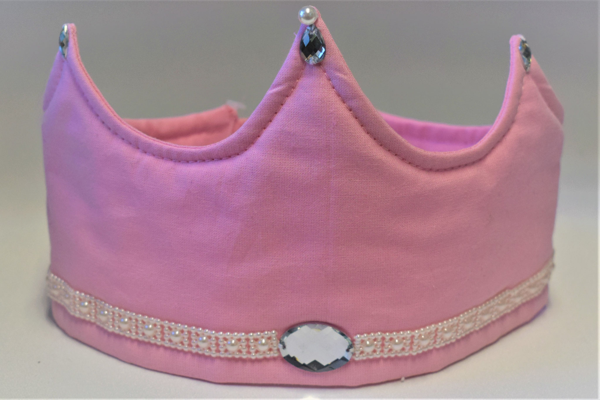 rosa mit Perlenbordüre, 24,90€