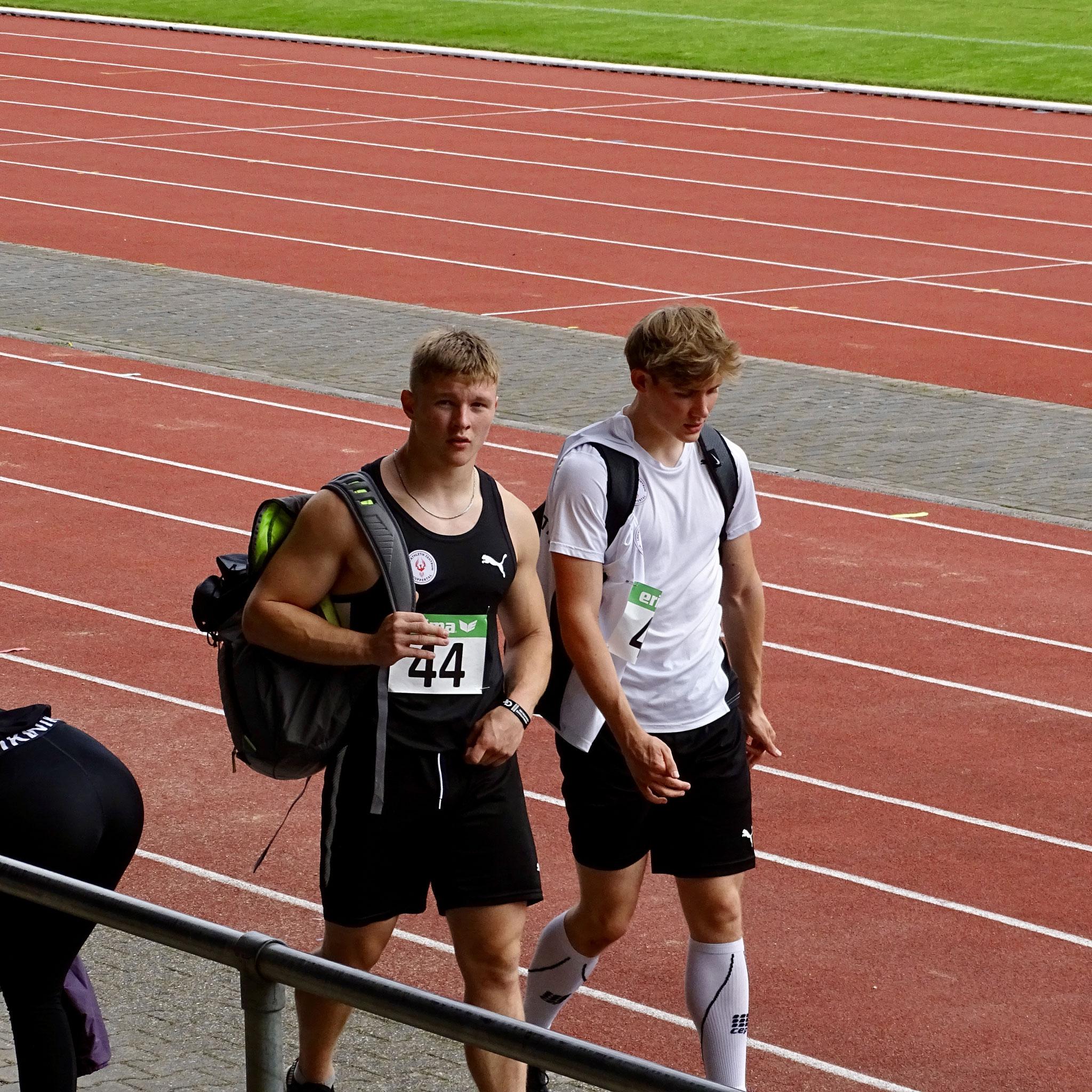 Duncan Brune und Tim Haufe