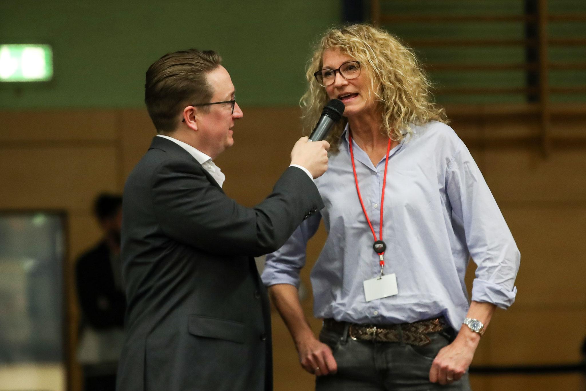 Interview Heike Henkel (Foto: Footcorner/Dirk Fußwinkel)