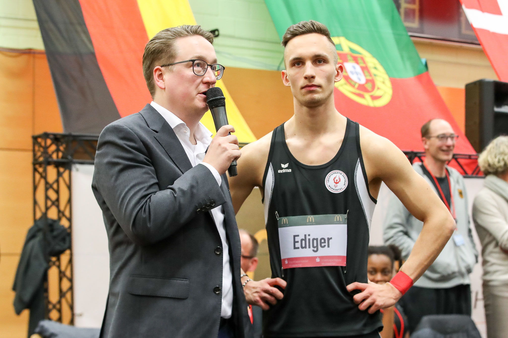 Interview Tom Ediger (Foto: Footcorner/Dirk Fußwinkel)