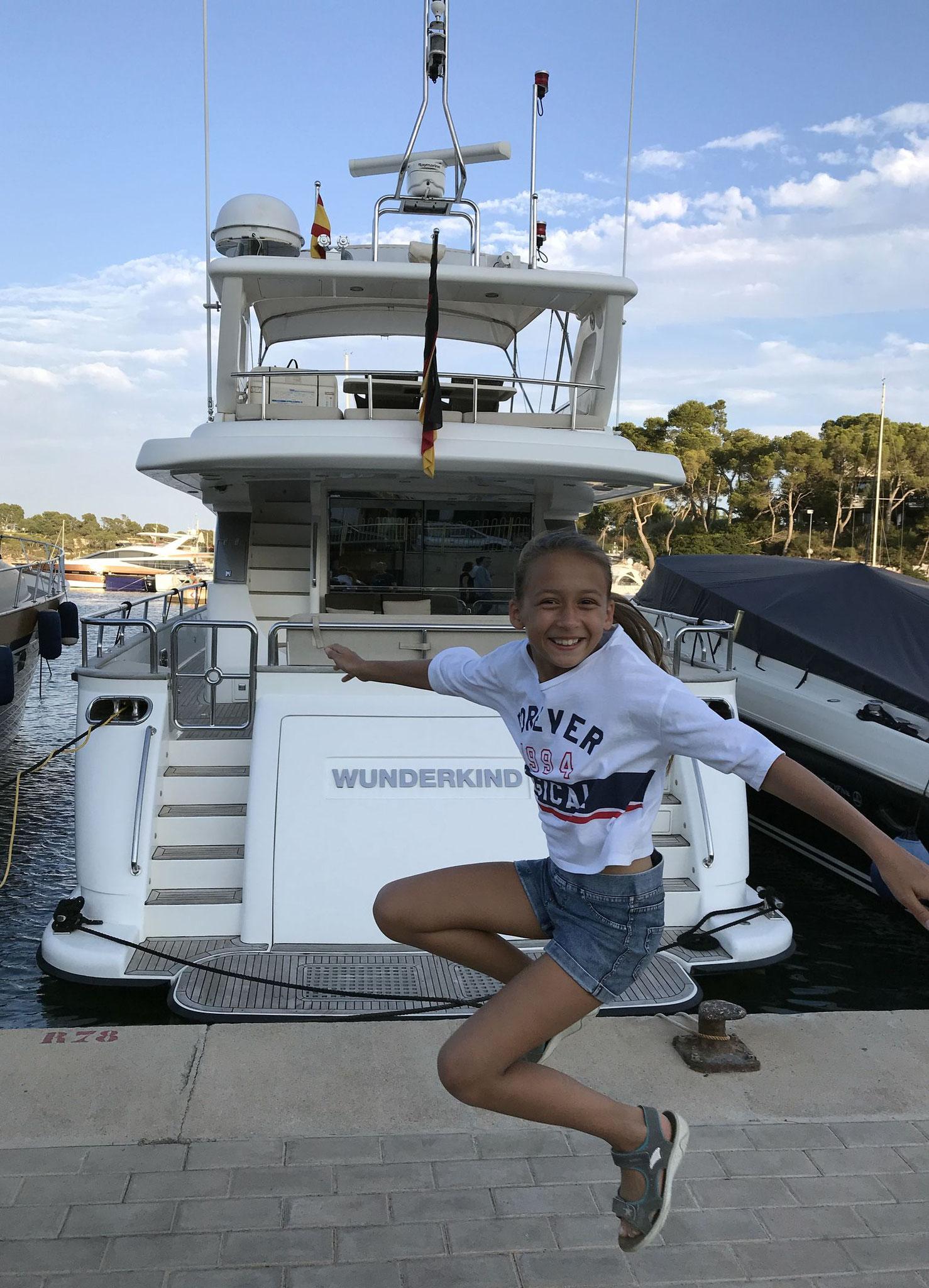 Das Wunderkind auf Mallorca im Juli 2018