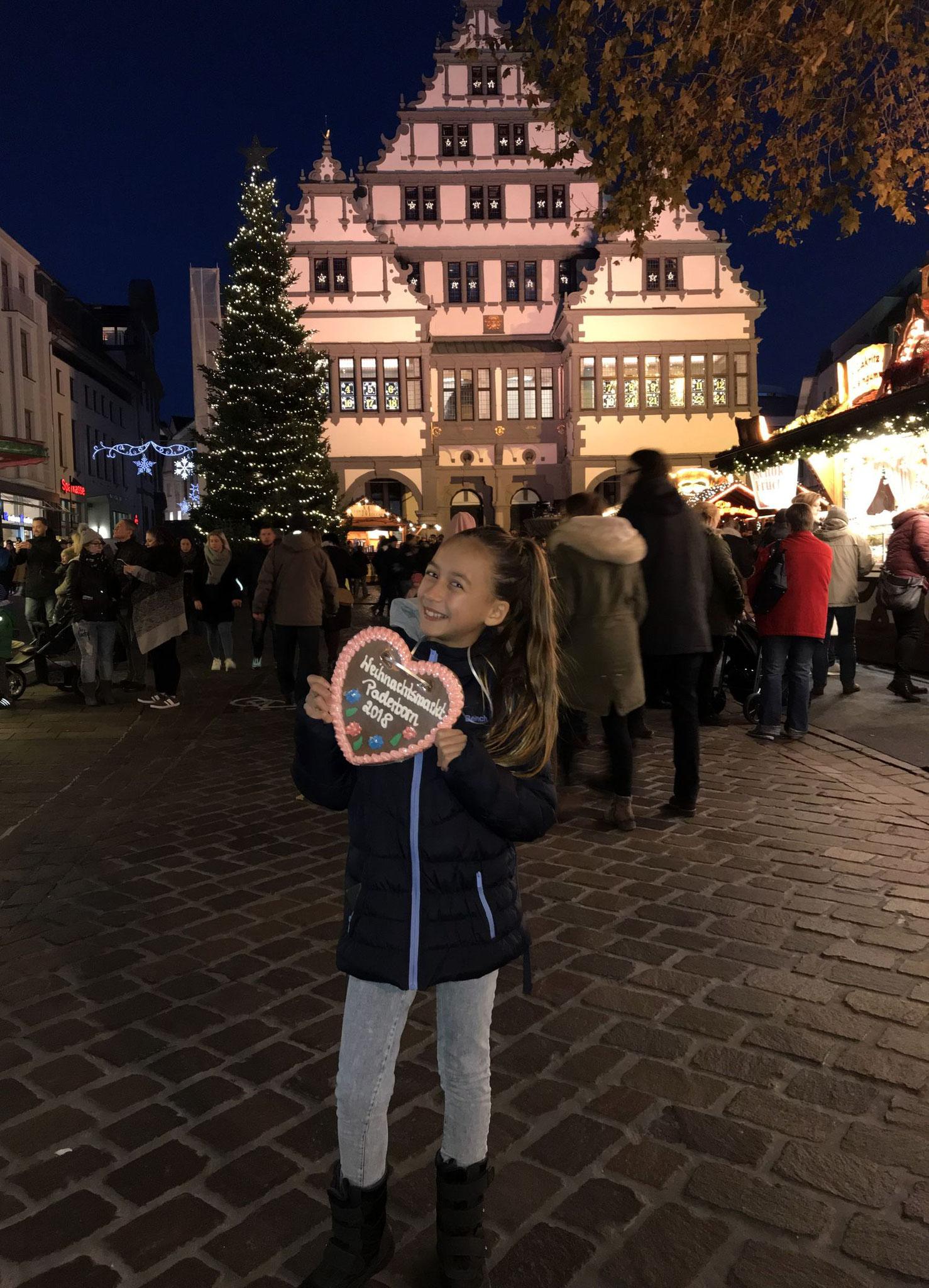 Zur Weihnachtsmarkteröffnung im November 2018