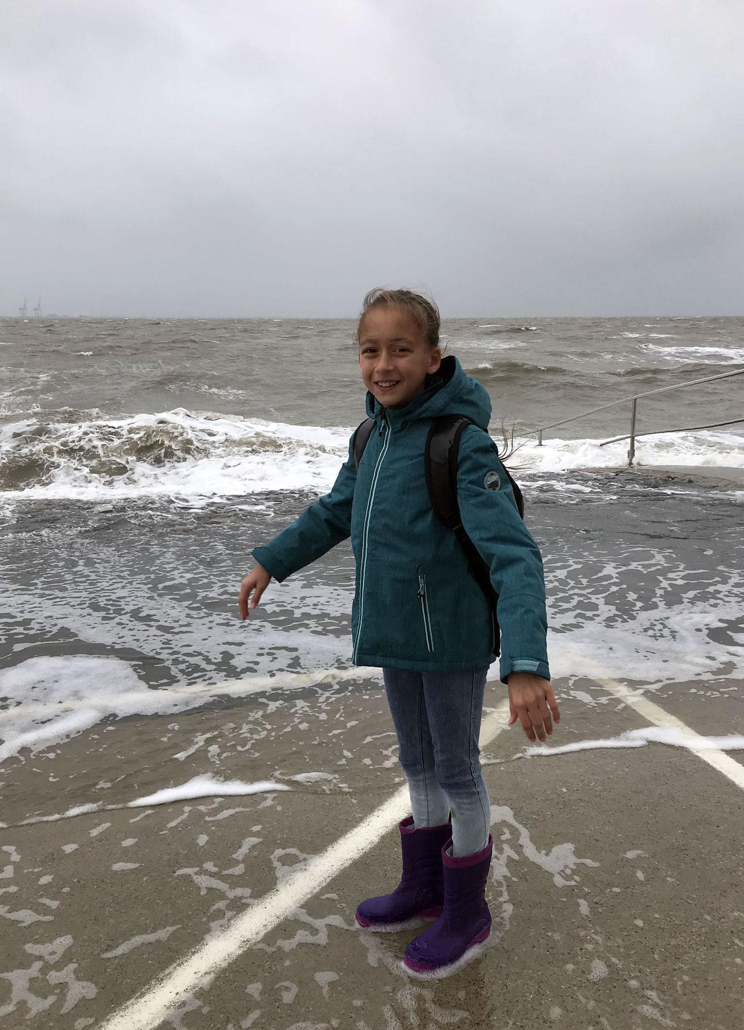 An der Nordseeküste im Oktober 2018