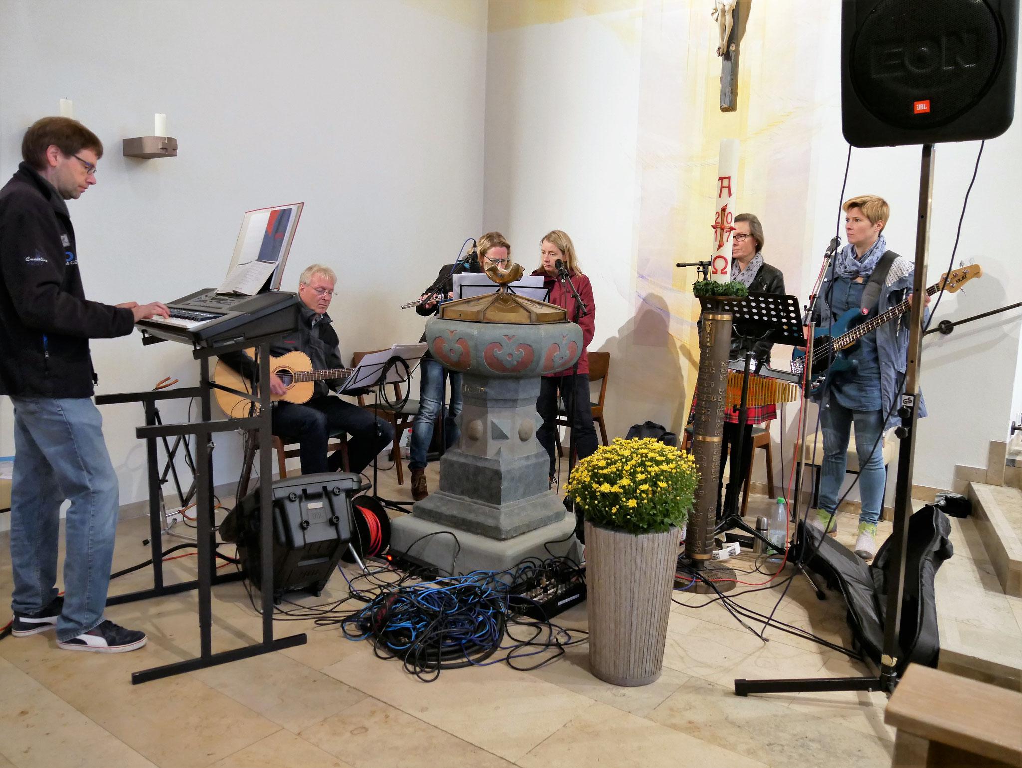 Musikgruppe Funkenflug aus Werl