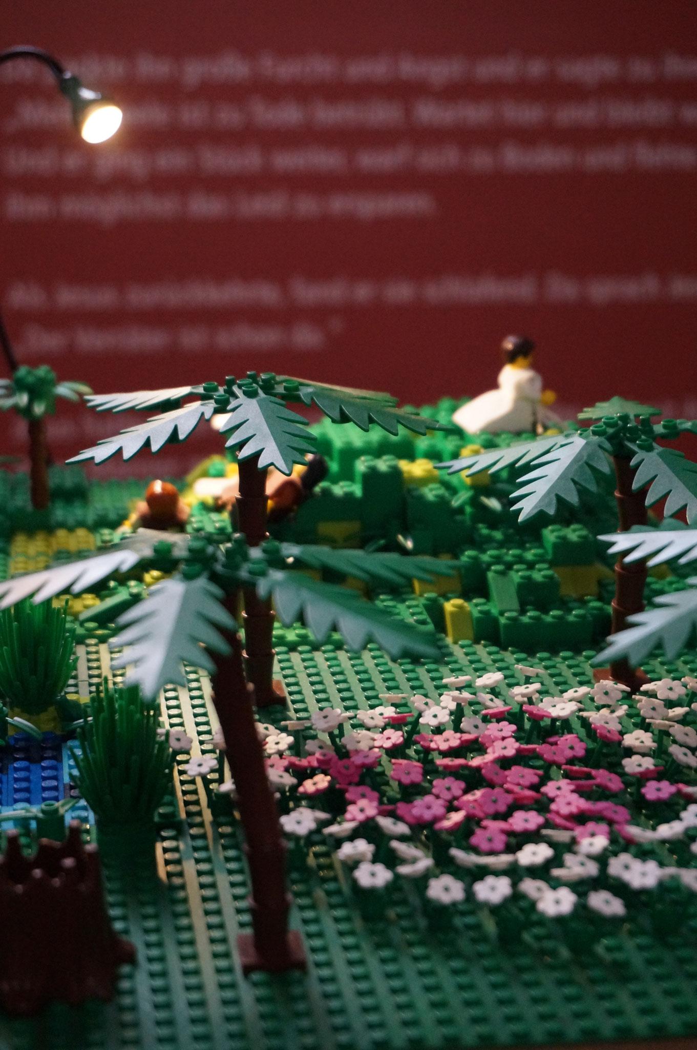 3. Station - Jesus geht in den Garten um zu beten und wird dort verhaftet