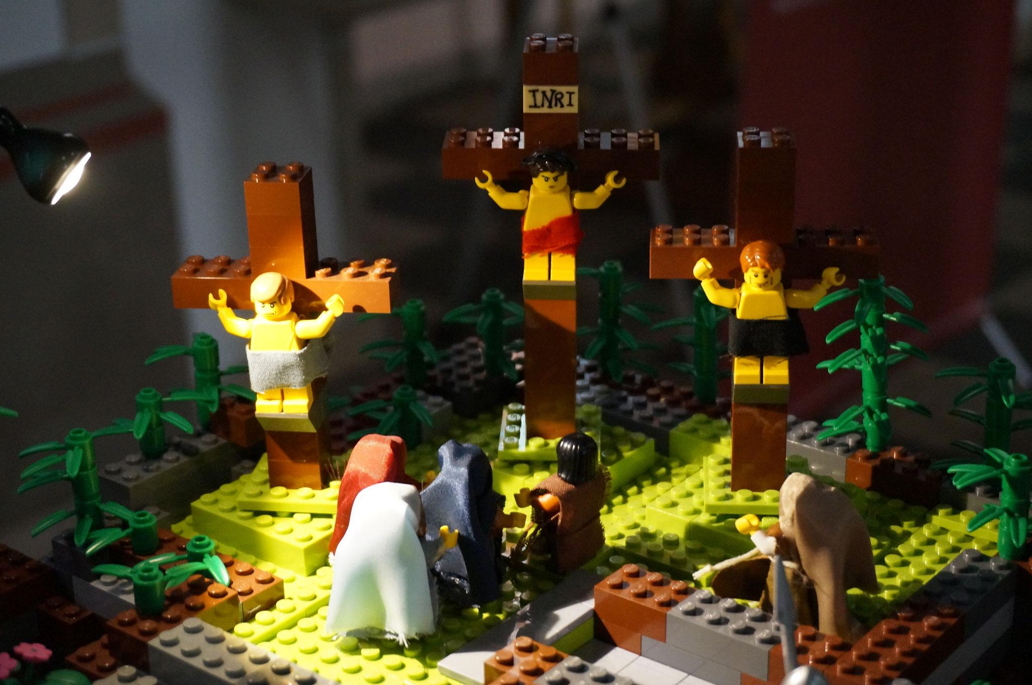 5. Station - Jesus wird gekreuzigt und stirbt
